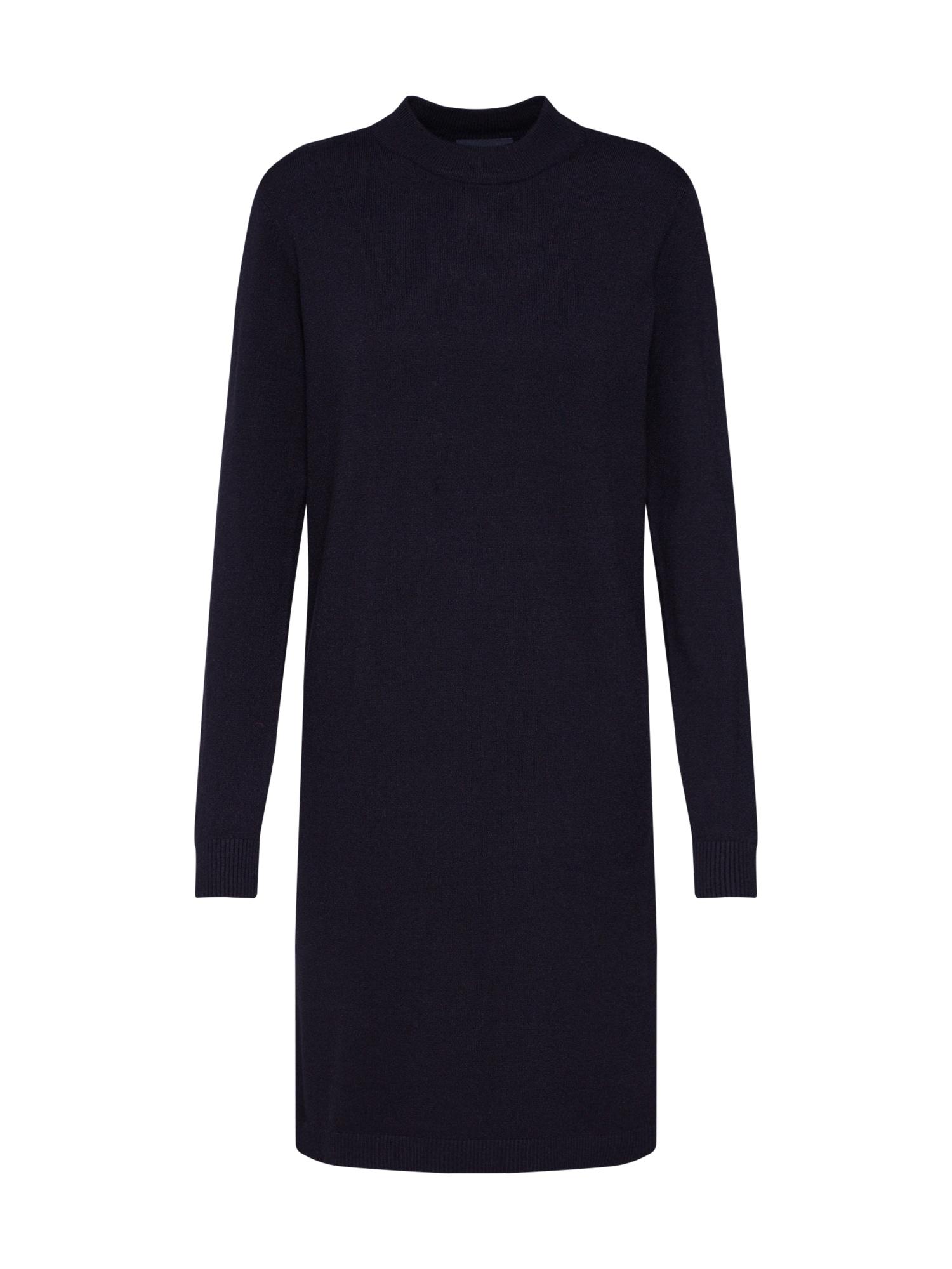 Úpletové šaty černá OBJECT