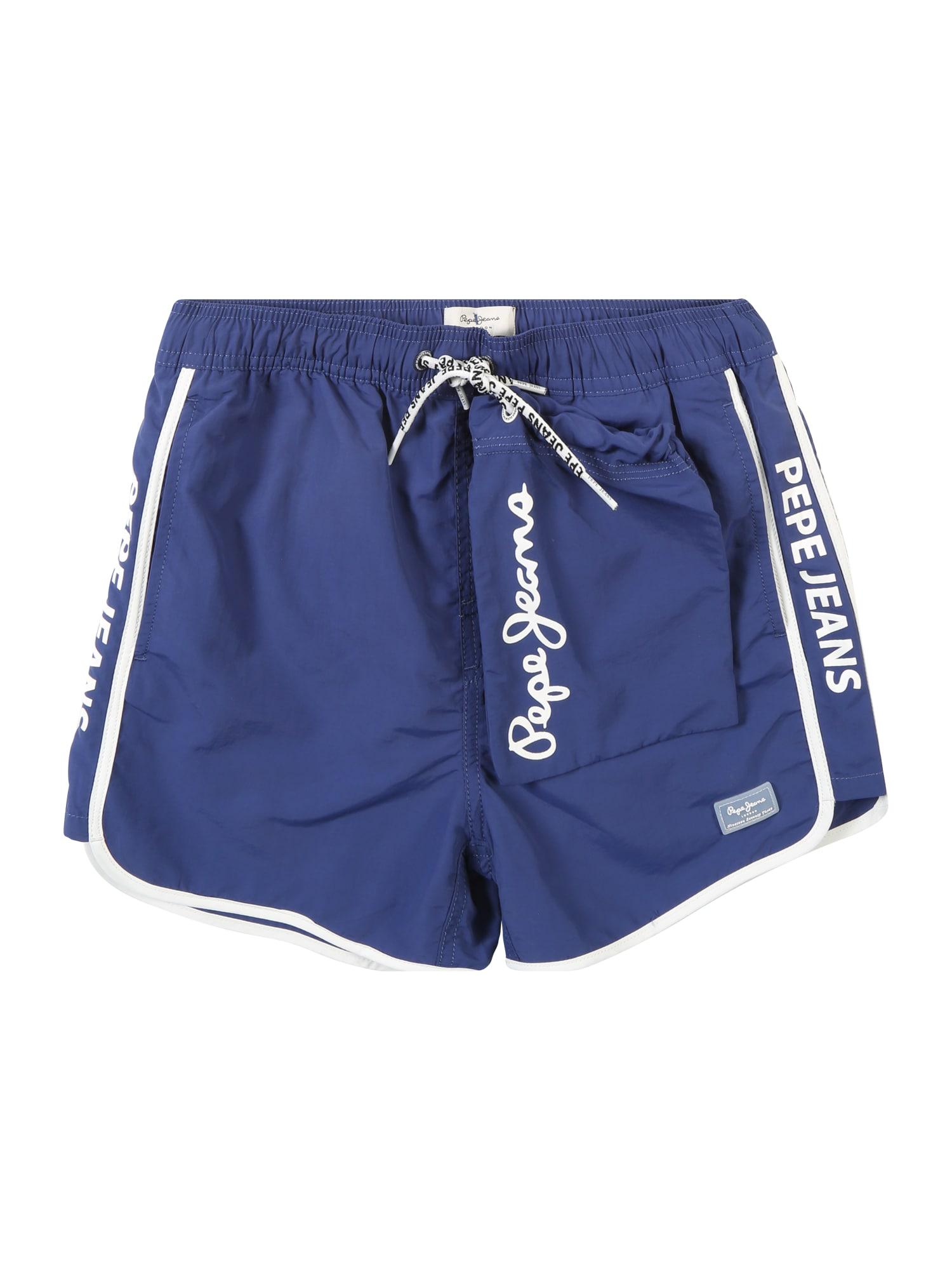 Plavecké šortky Filo modrá Pepe Jeans