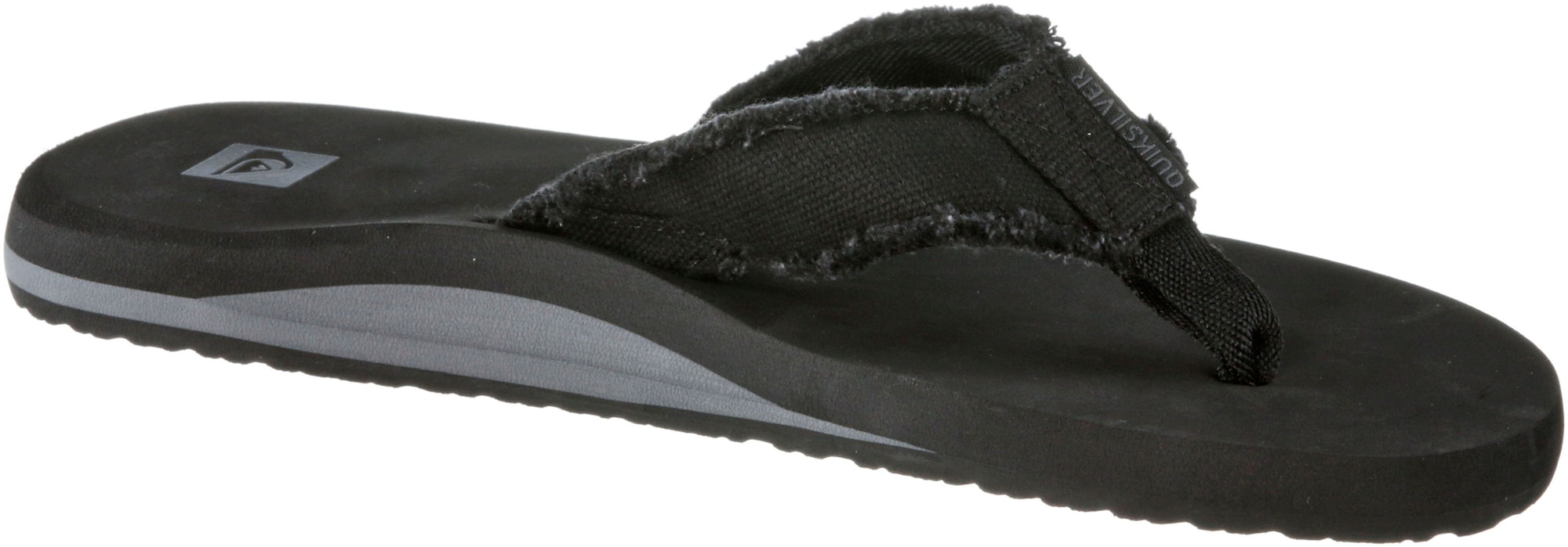 QUIKSILVER, Heren Teenslippers 'Monkey Abiss', zwart