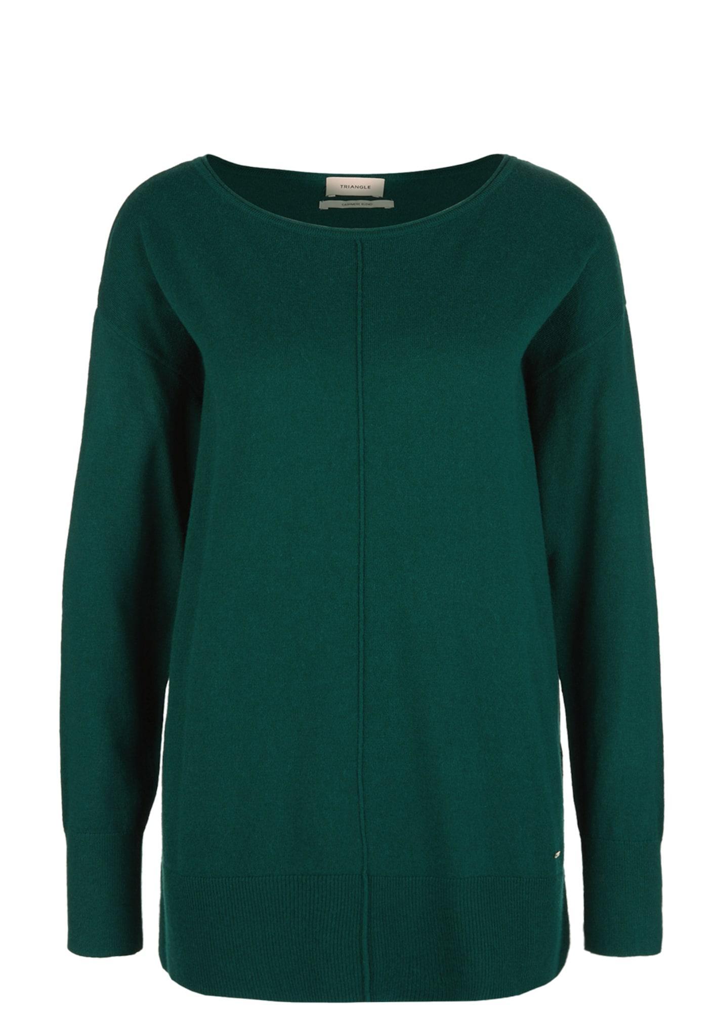 Pullover | Bekleidung > Pullover | Dunkelgrün | Triangle