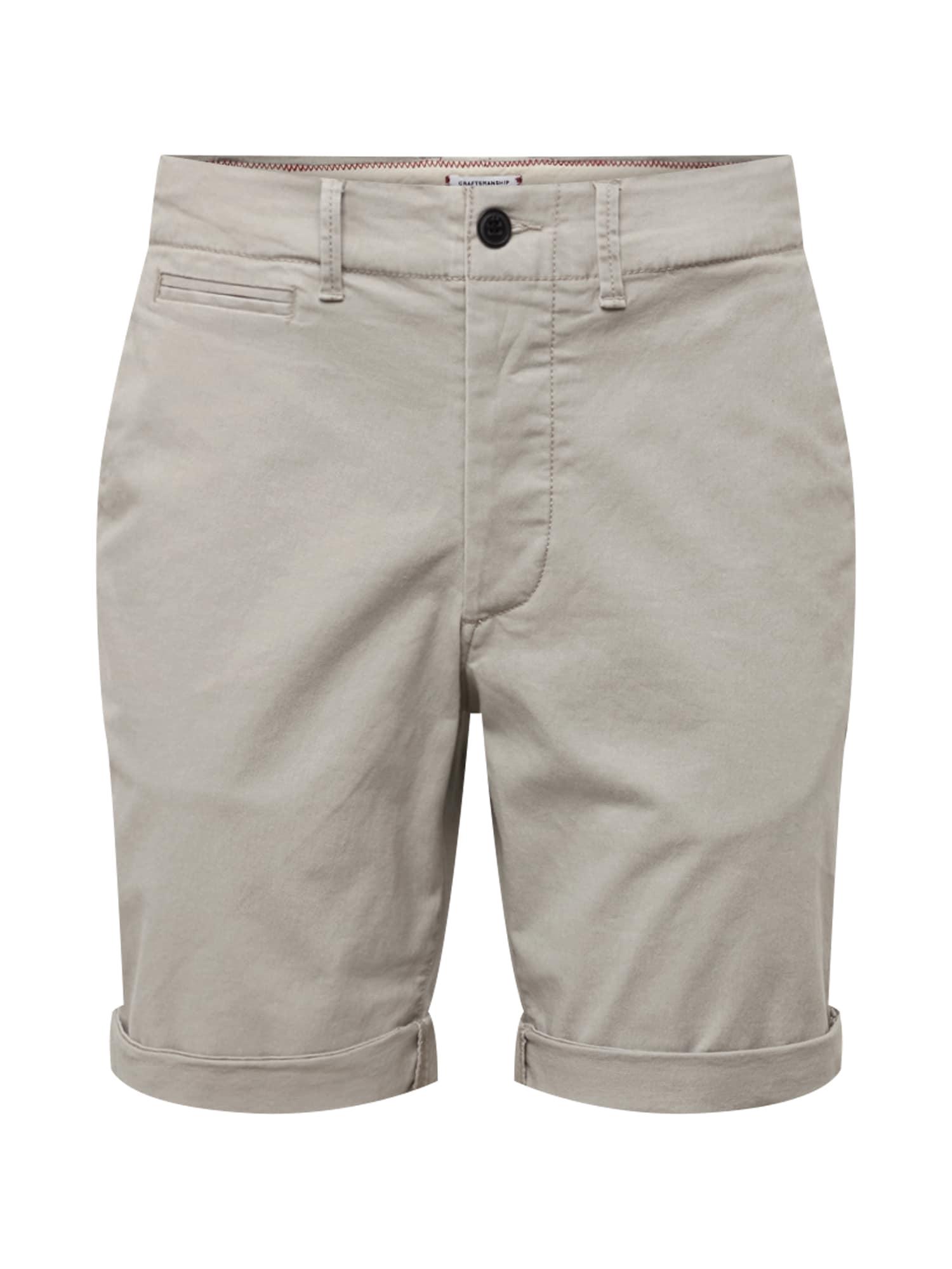 Chino kalhoty Enzo světle šedá JACK & JONES