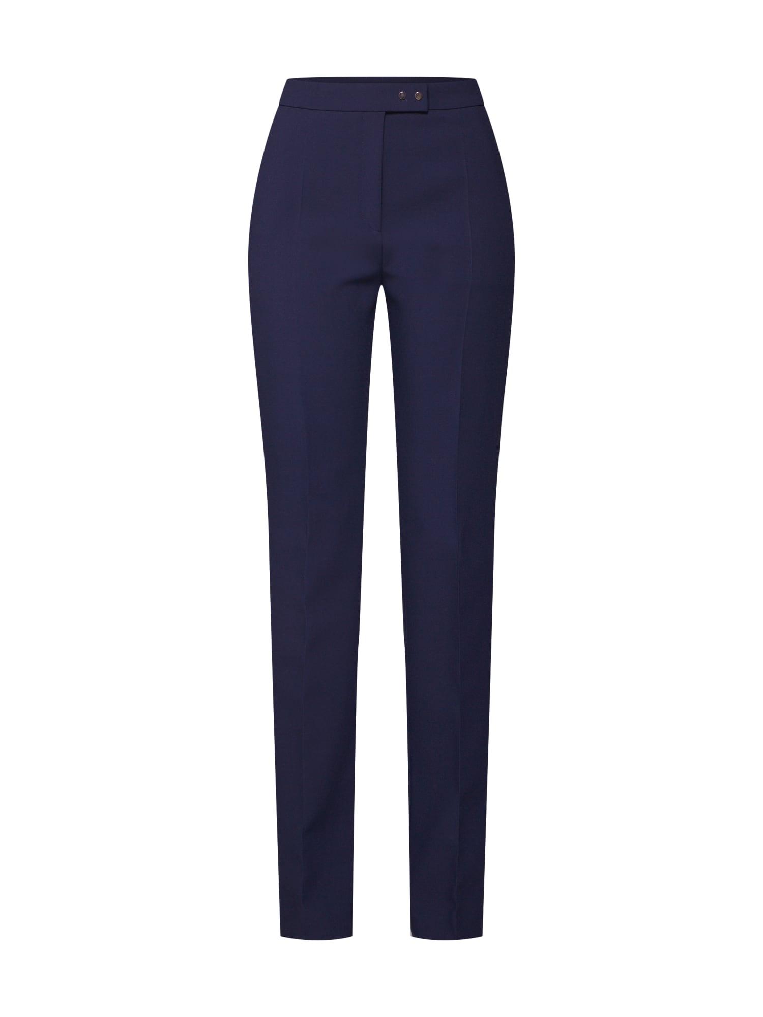 Kalhoty s puky Helines námořnická modř HUGO