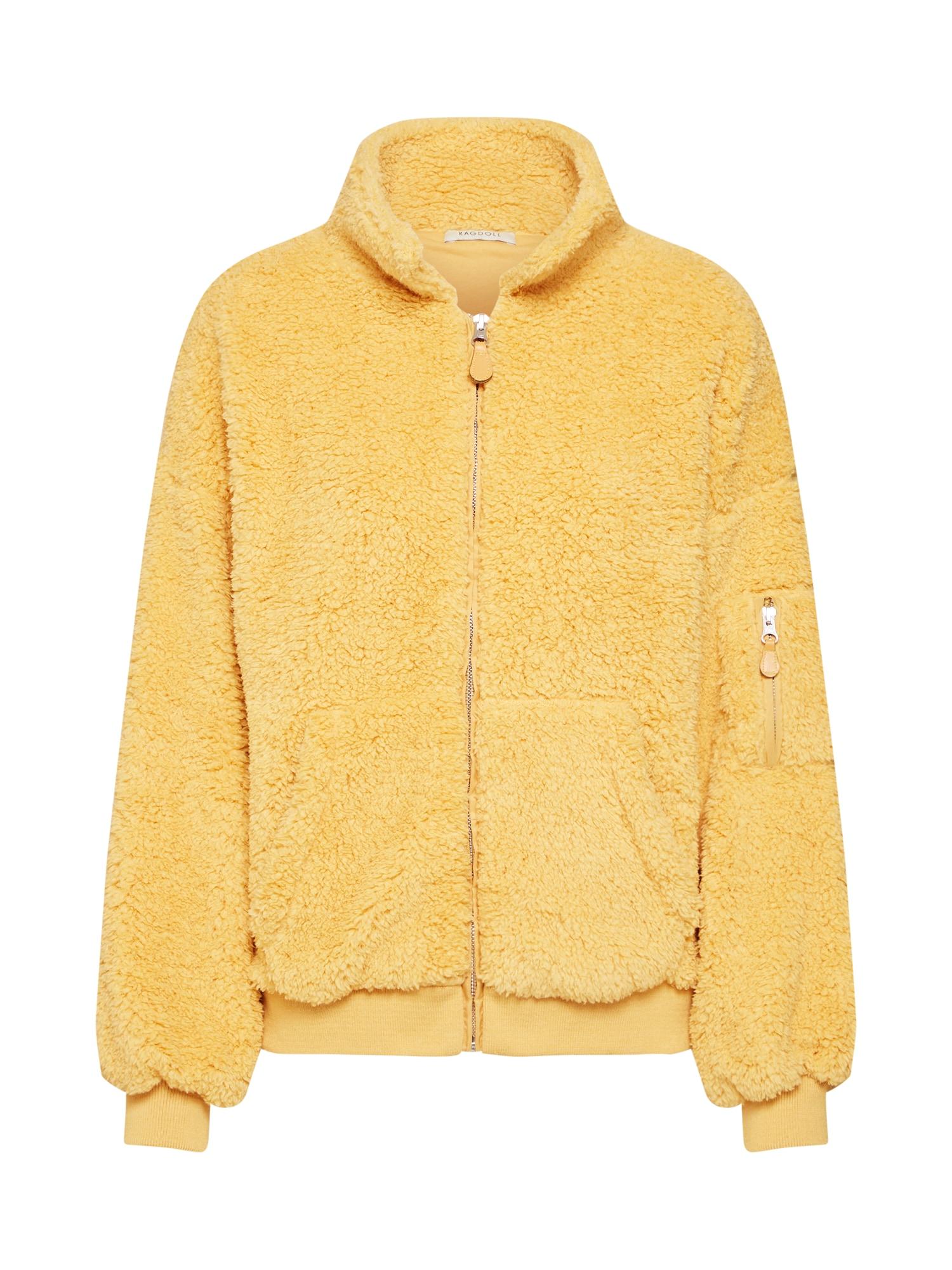 Přechodná bunda Teddy žlutá Ragdoll LA