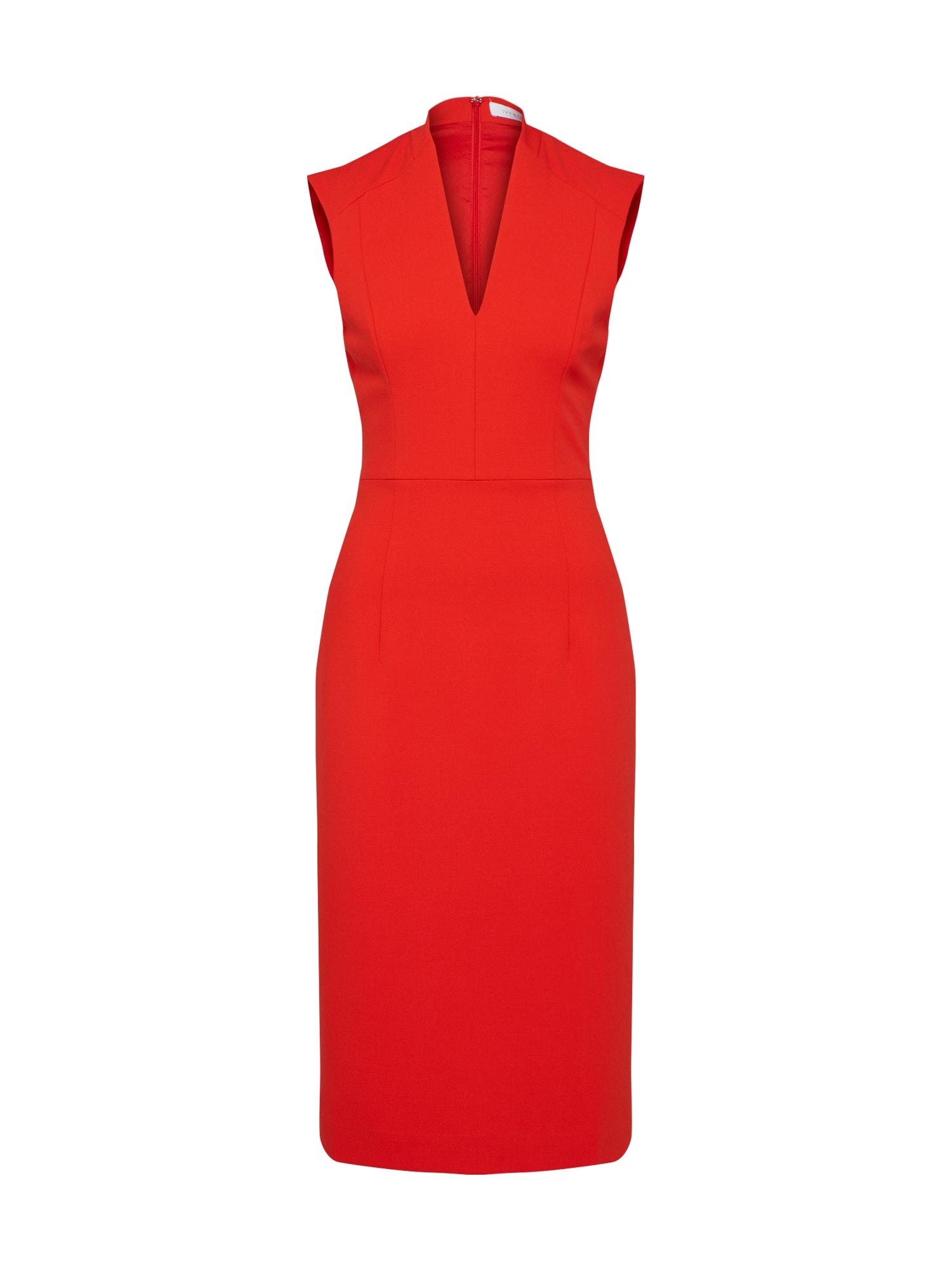 Pouzdrové šaty červená IVY & OAK