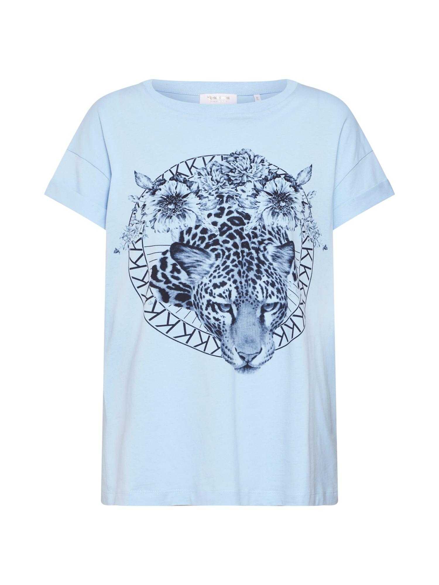 Tričko Leo kobaltová modř světlemodrá Rich & Royal