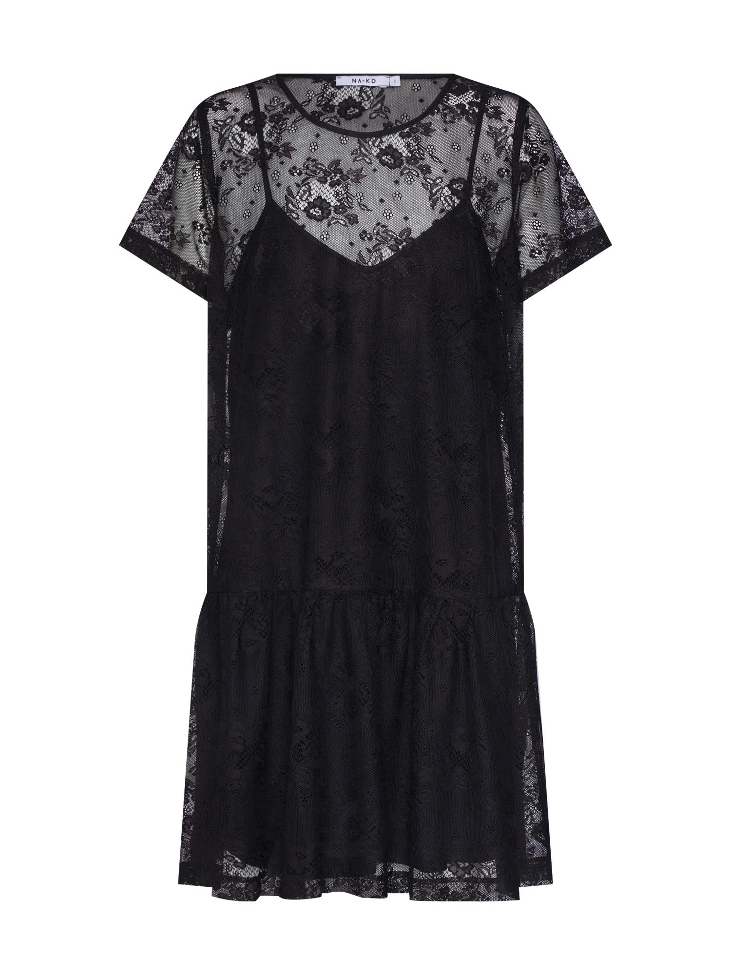 Šaty černá NA-KD