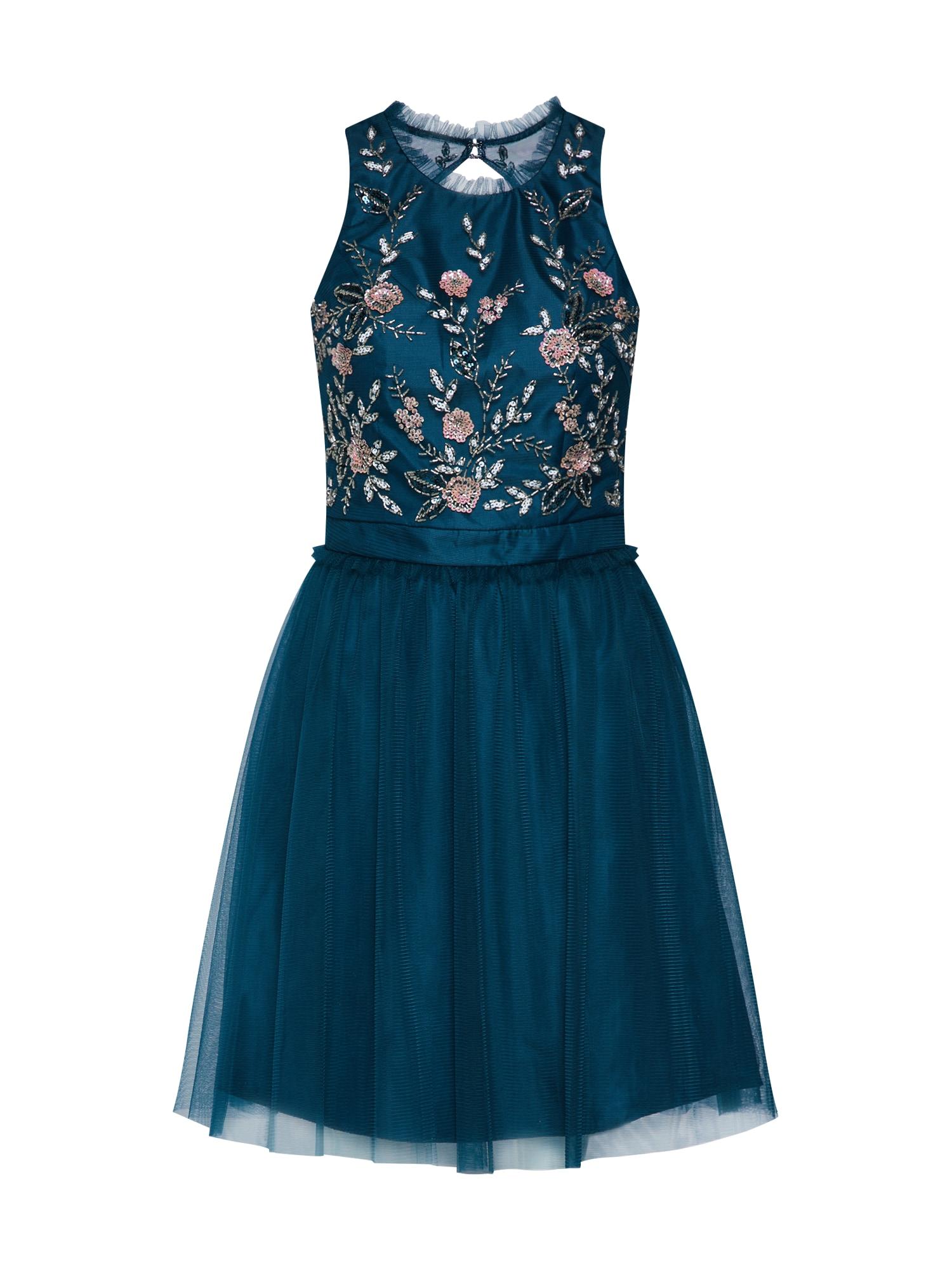 Šaty tmavě modrá mix barev Laona