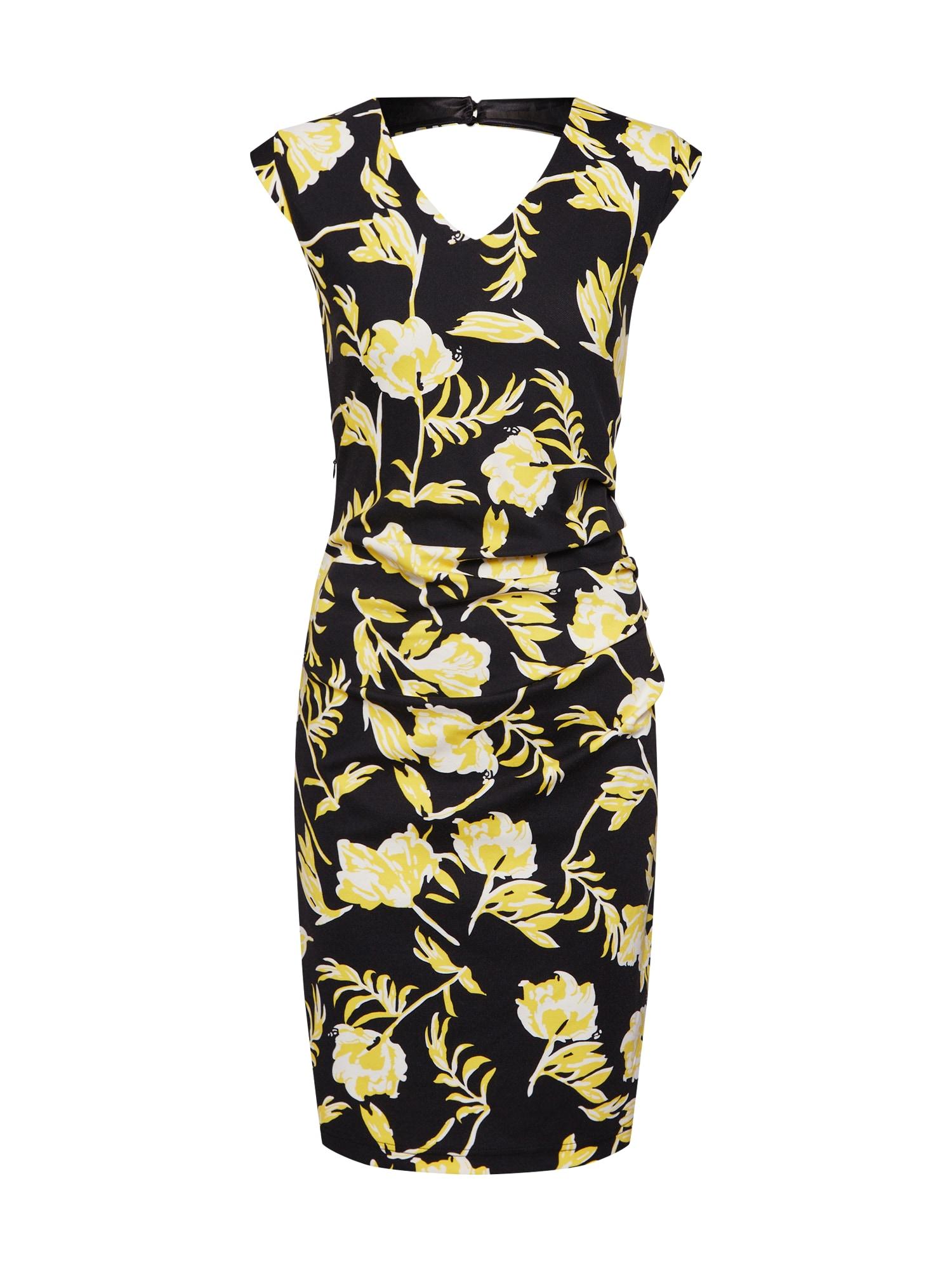 Letní šaty Molly černá Kaffe