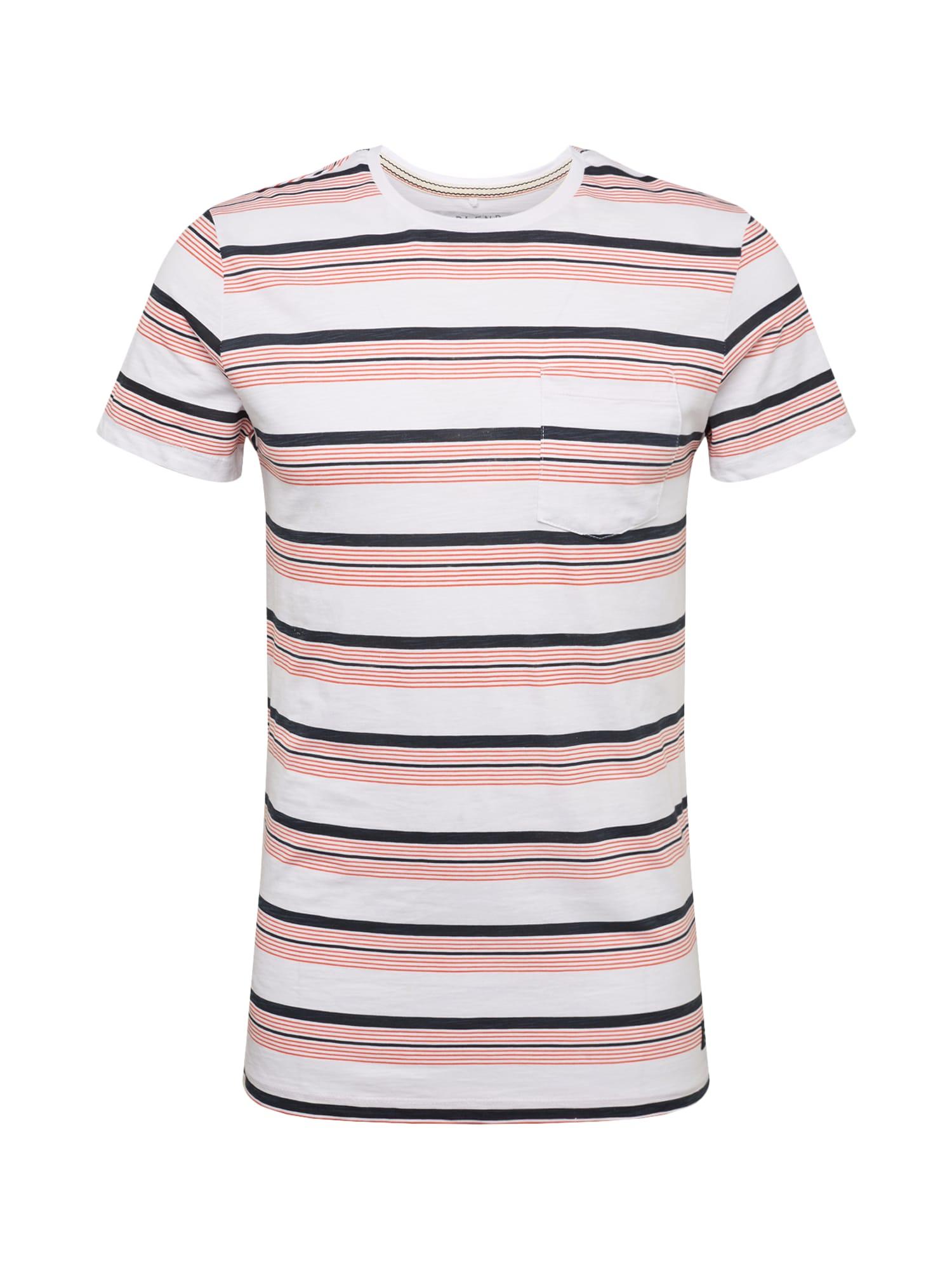Tričko mix barev korálová bílá BLEND