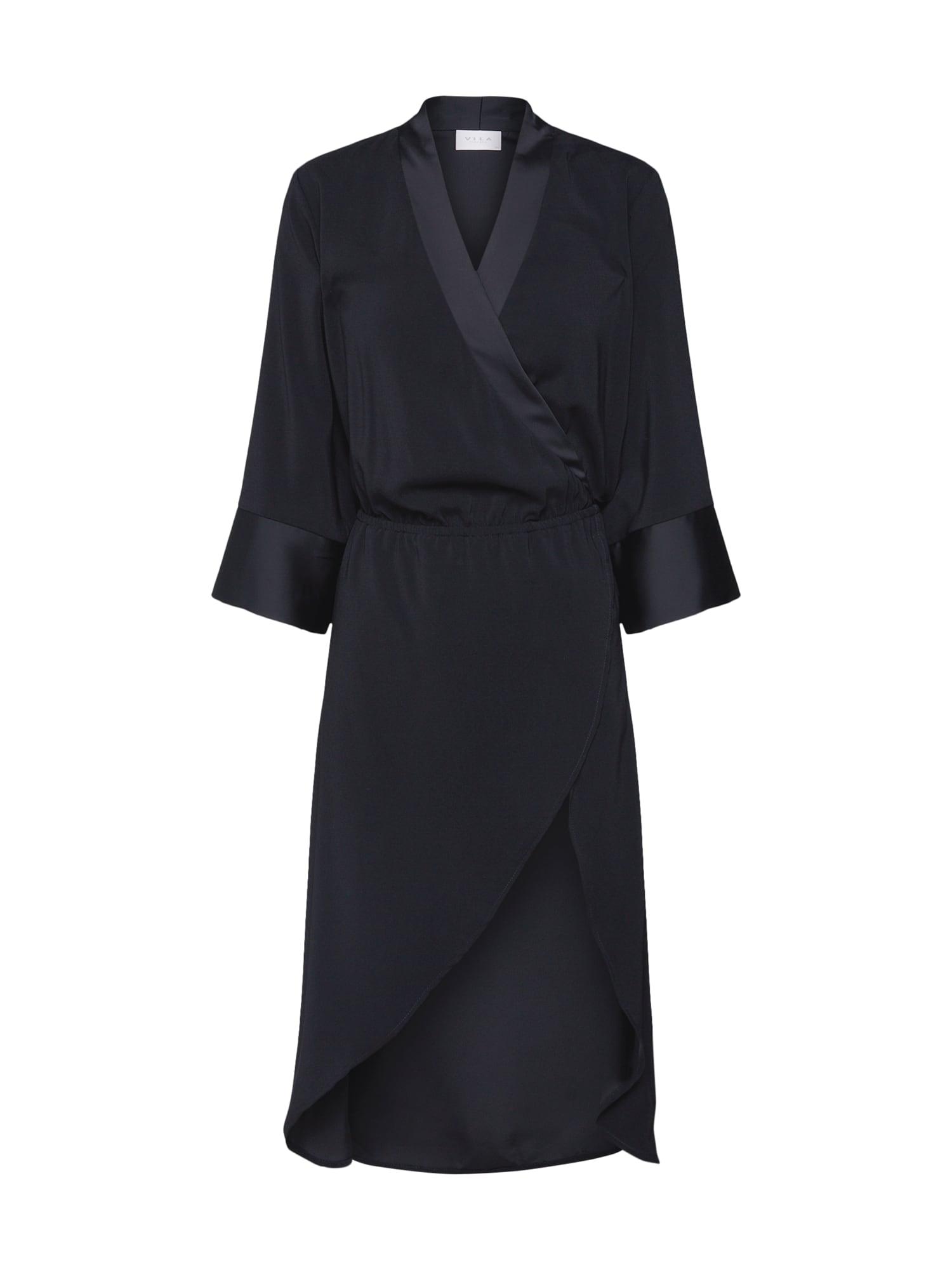 Koktejlové šaty MILENA LACE černá VILA