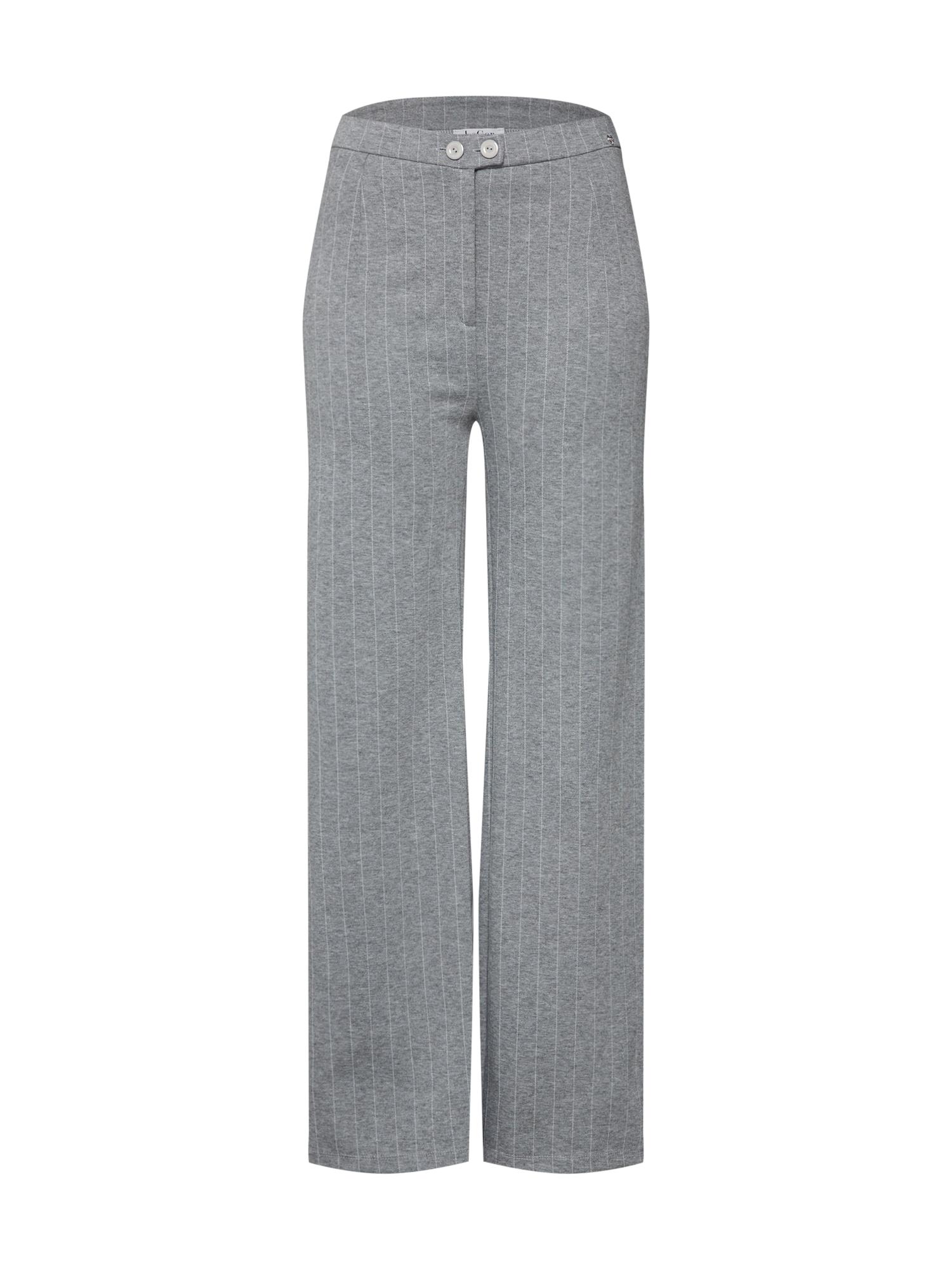 Kalhoty Cora šedý melír LeGer By Lena Gercke
