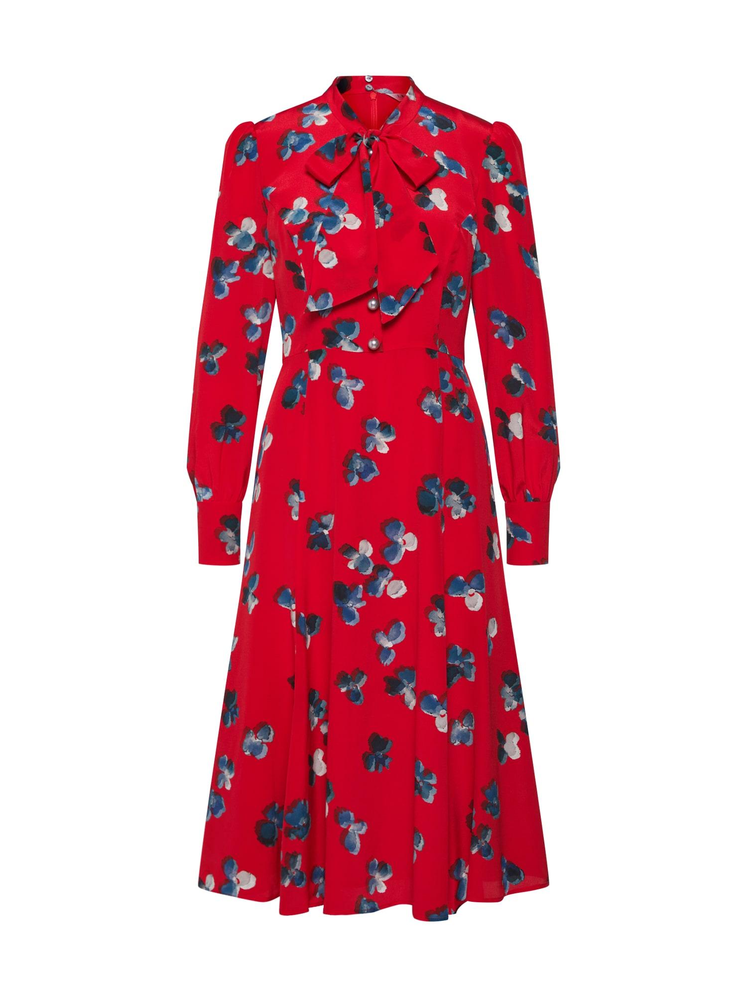 Košilové šaty červená L.K.Bennett