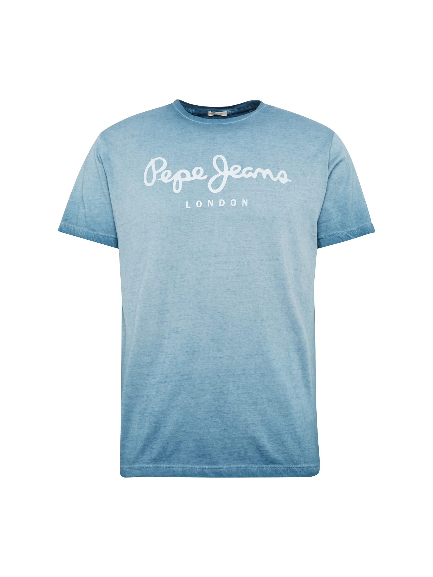 Pepe Jeans Heren Shirt WEST SIR II blauw wit