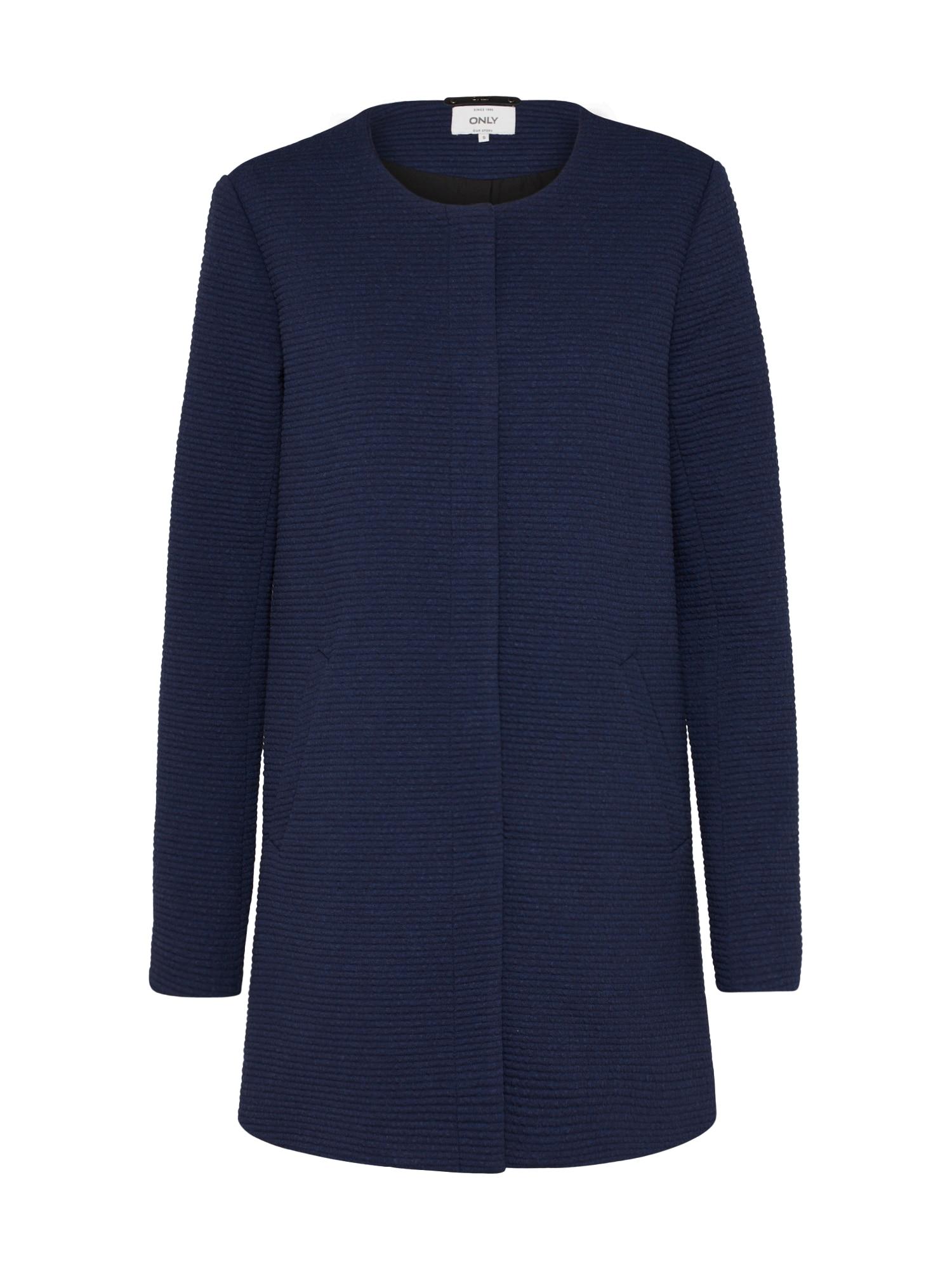 Přechodný kabát SIDNEY tmavě modrá ONLY