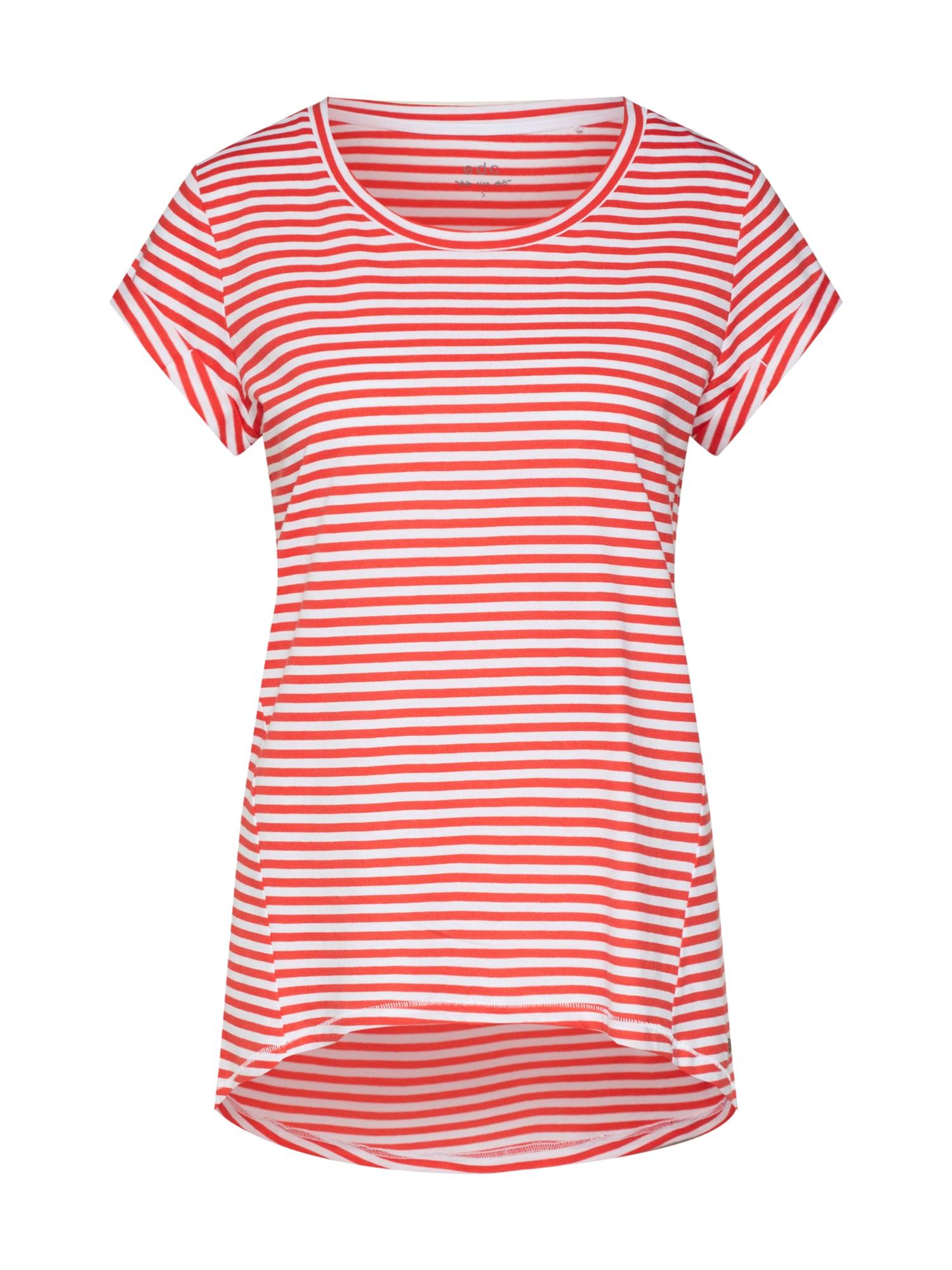 Tričko korálová bílá EDC BY ESPRIT