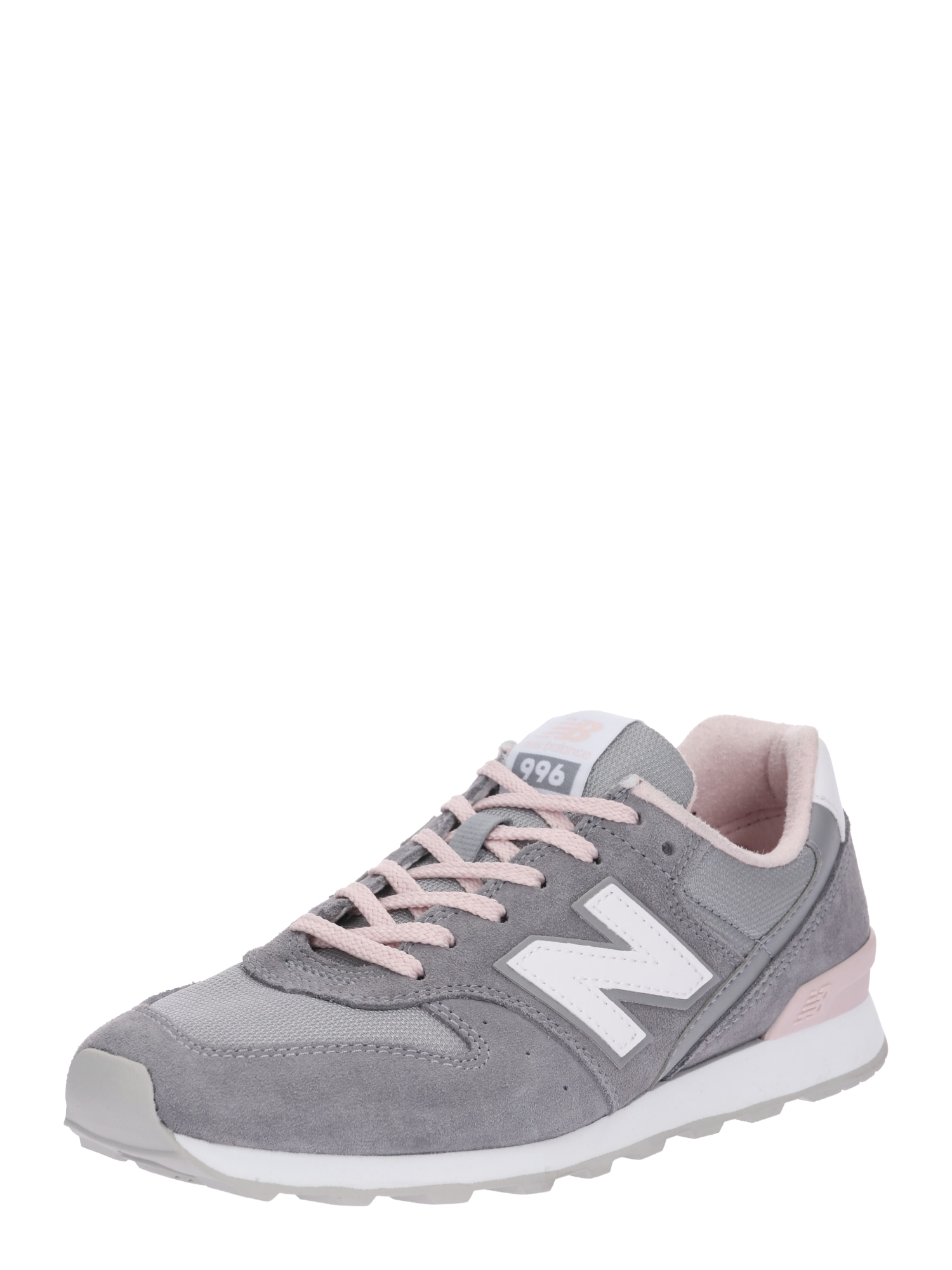 New Balance, Dames Sneakers laag 'WR996', grafiet / rosé / wit