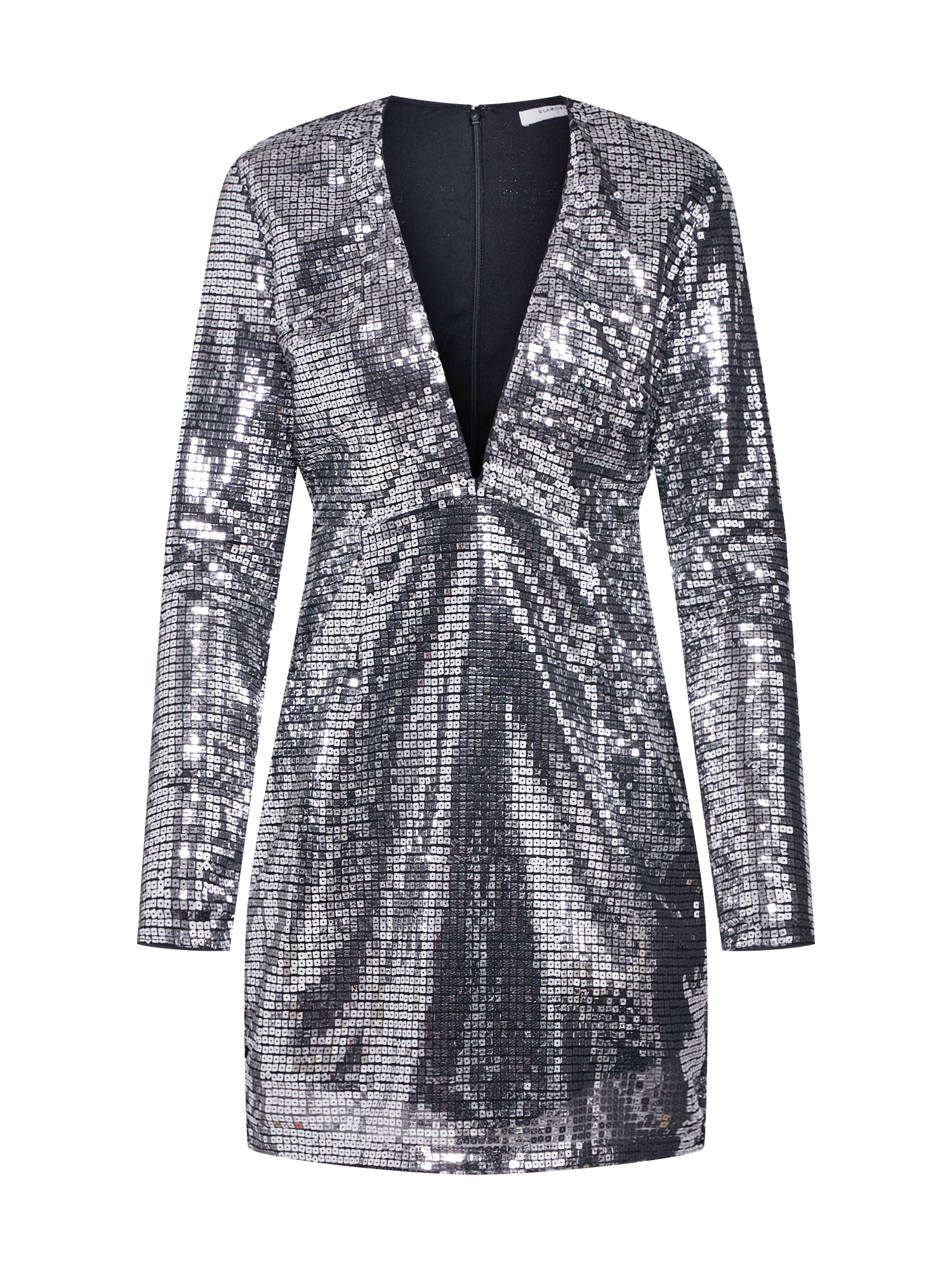 GLAMOROUS Sukienka koktajlowa 'LADIES DRESS'  srebrny