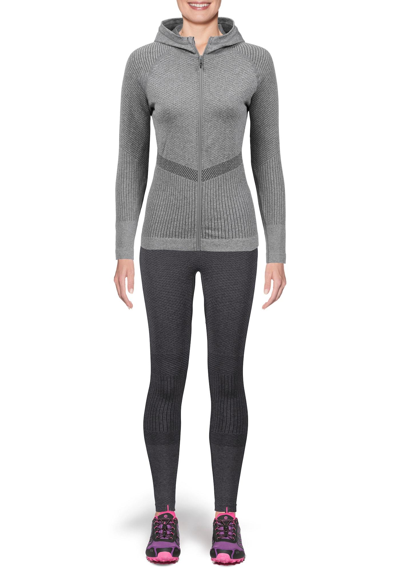 Tights 'ALYSA MELANGE'   Sportbekleidung > Sporthosen > Tights   Schwarz   ENDURANCE ATHLECIA