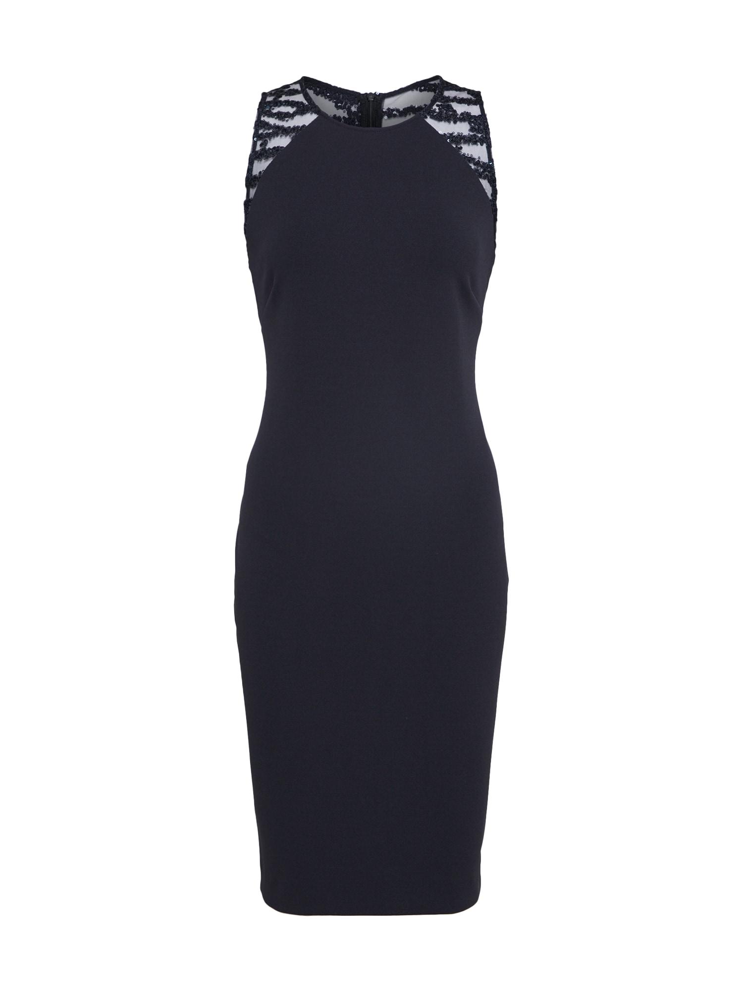 Pouzdrové šaty kobaltová modř Vera Mont