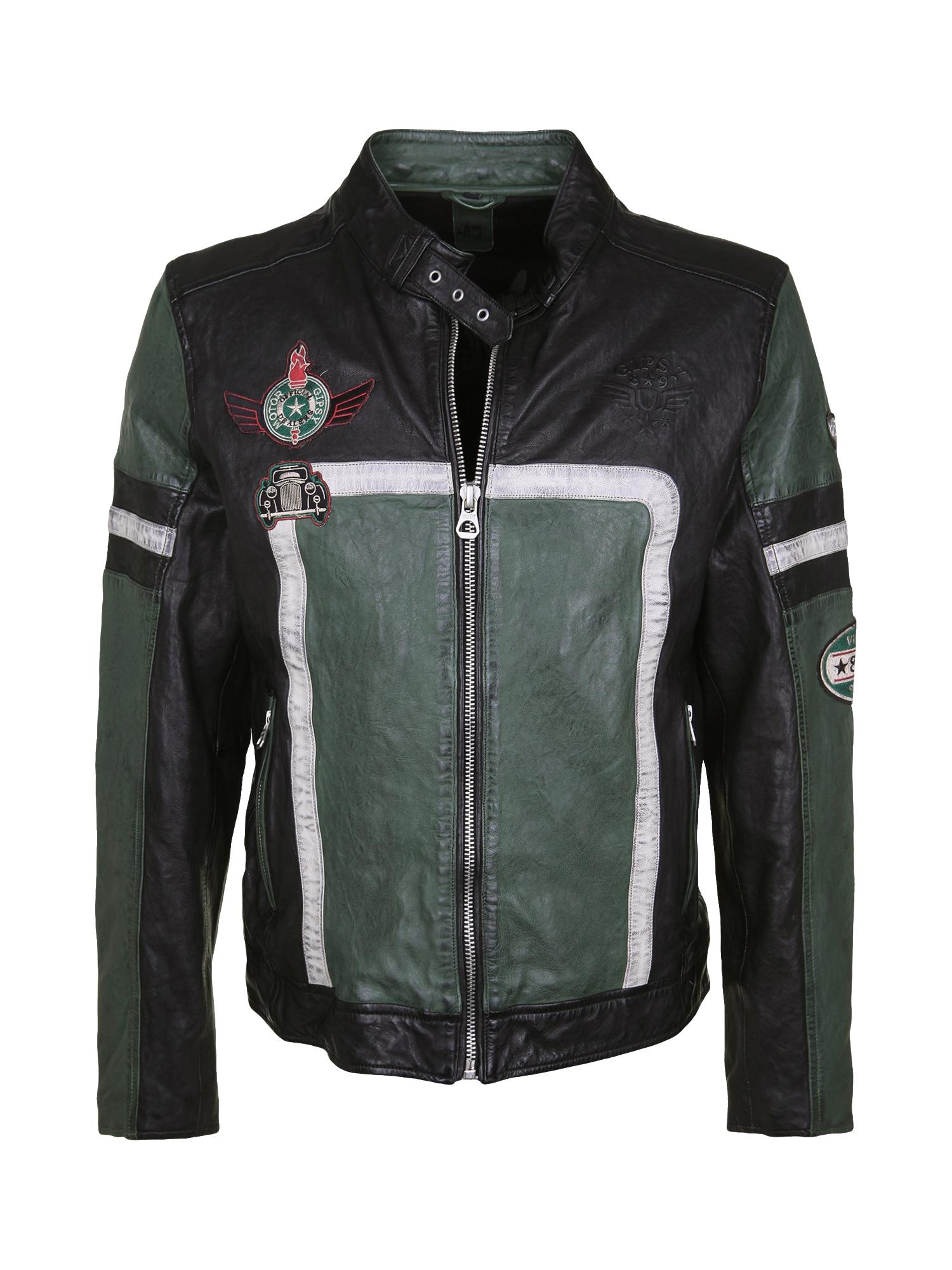Přechodná bunda Emmet tmavě zelená černá Gipsy