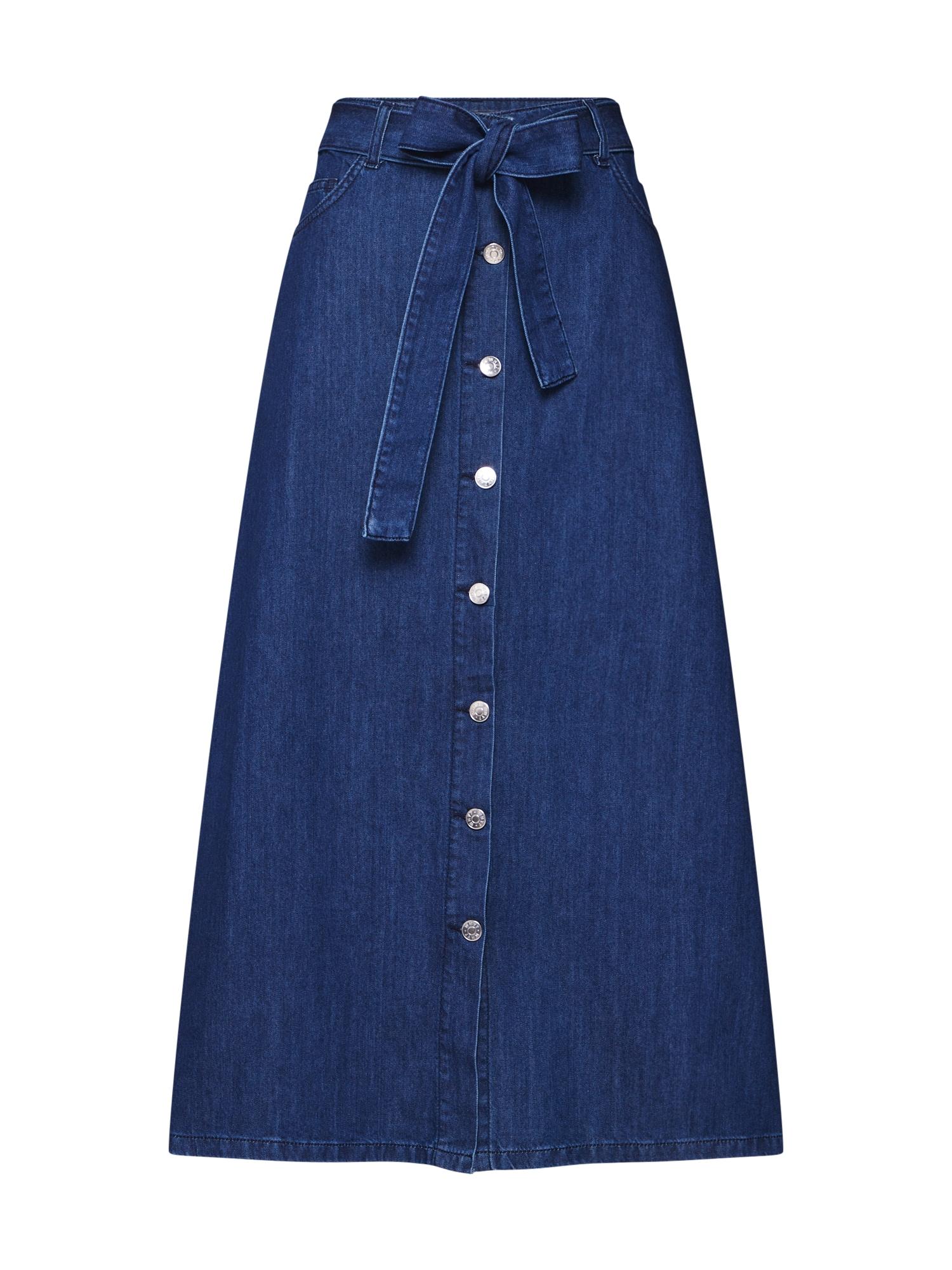 Sukně DEBRA modrá džínovina WHY7