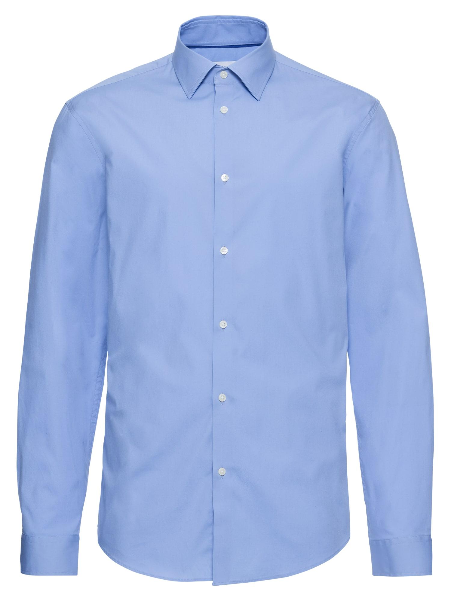 Společenská košile N soliST Po lsl světlemodrá Esprit Collection