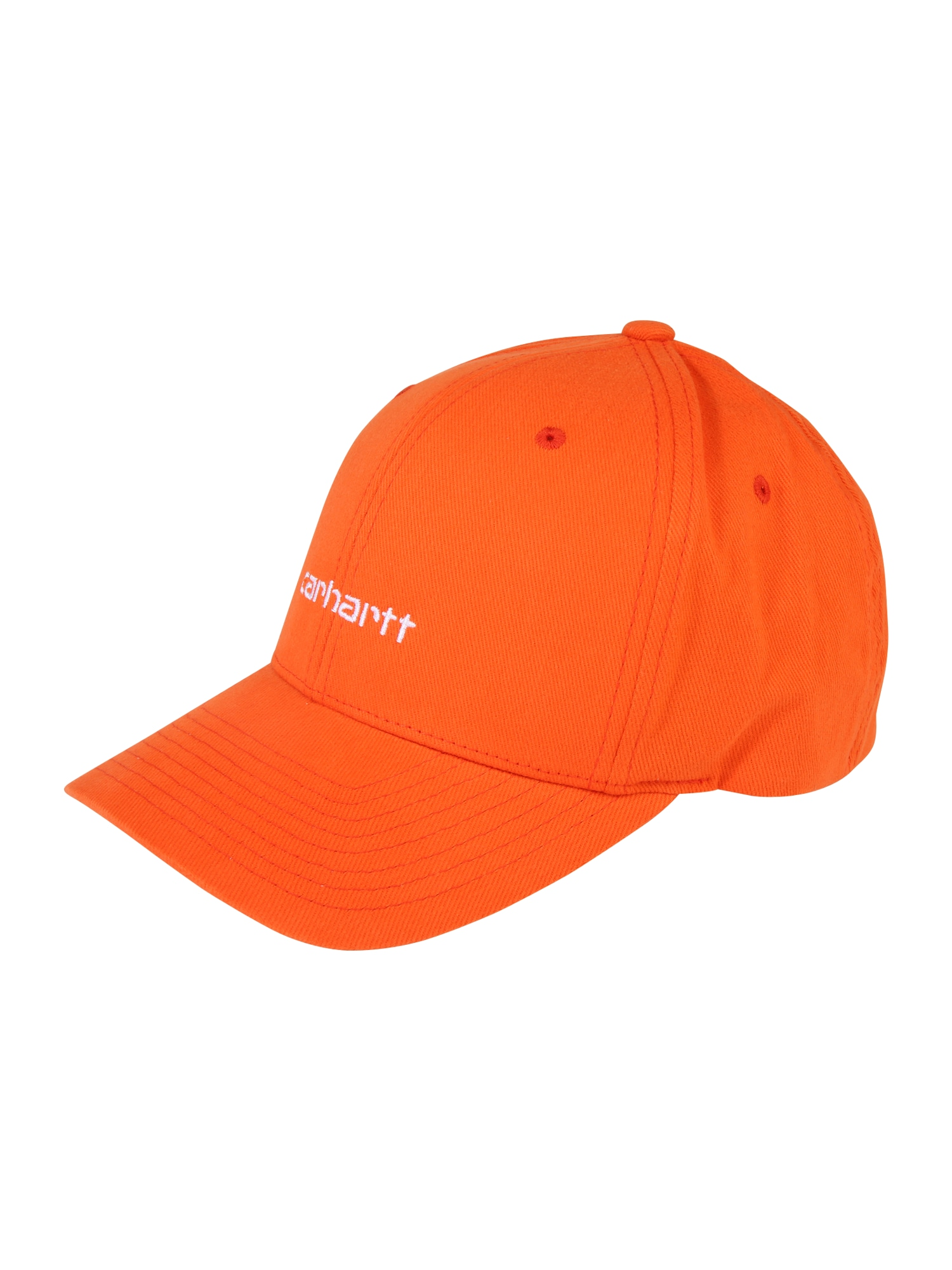 Kšiltovka Script oranžová Carhartt WIP