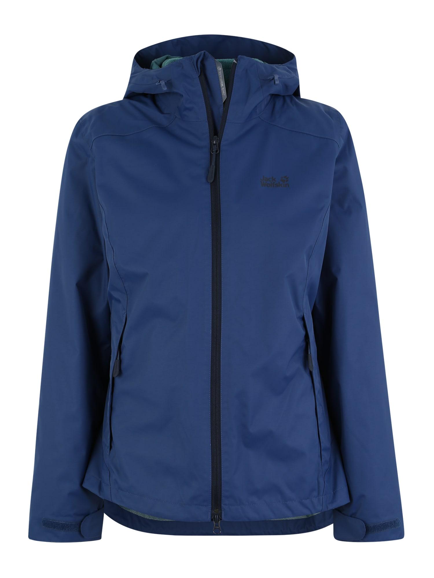 Outdoorová bunda GOTLAND 3IN1 W tmavě modrá JACK WOLFSKIN