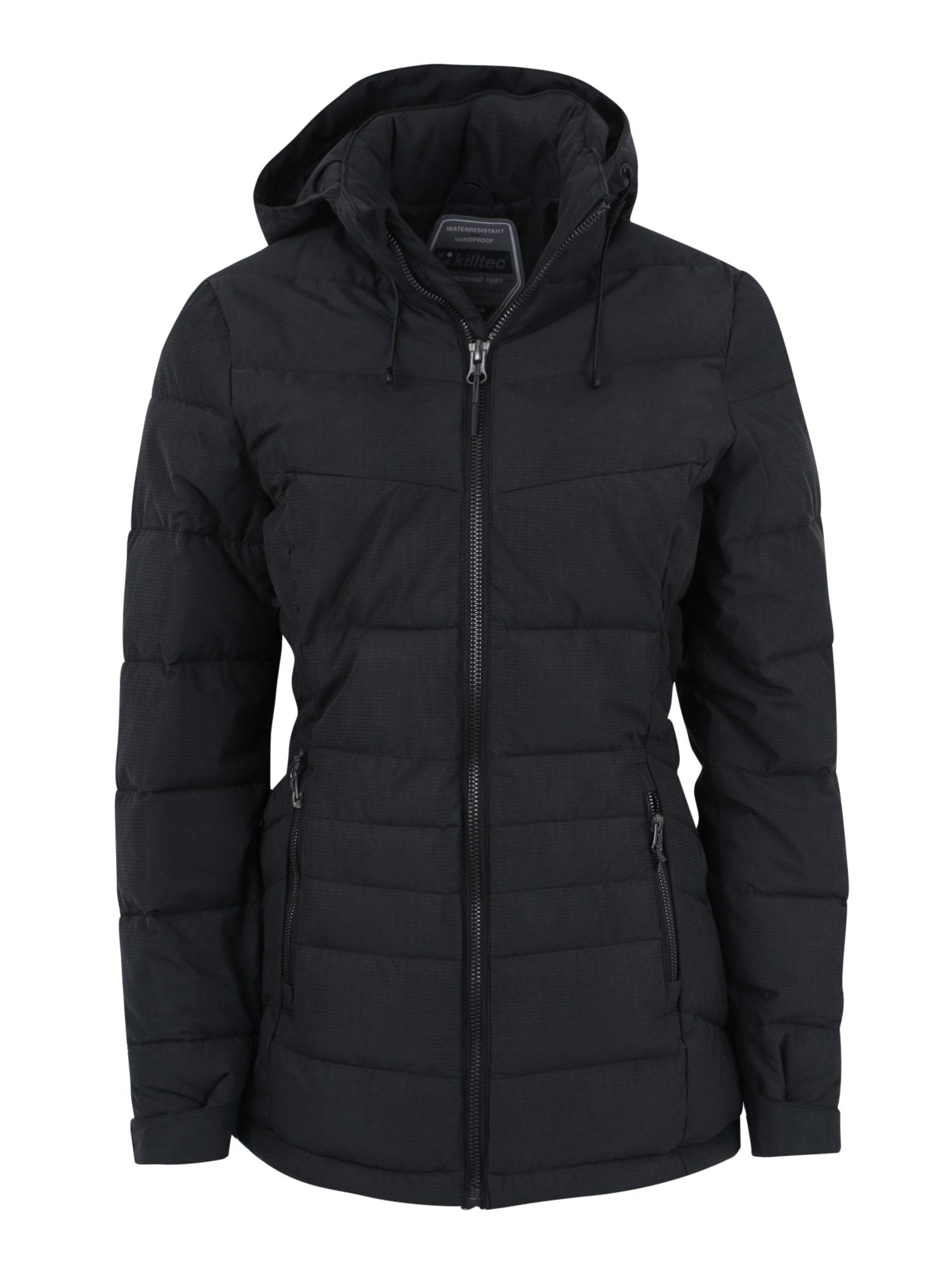 Outdoorová bunda Drinna černá KILLTEC