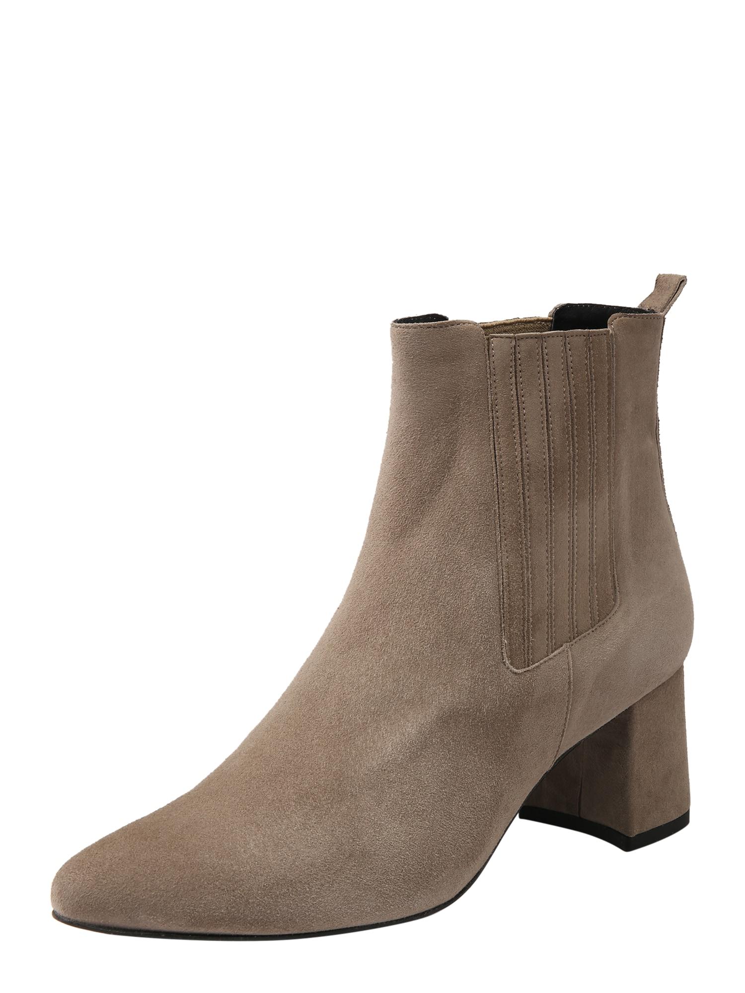Kotníkové boty Carmen  šedobéžová Apple Of Eden