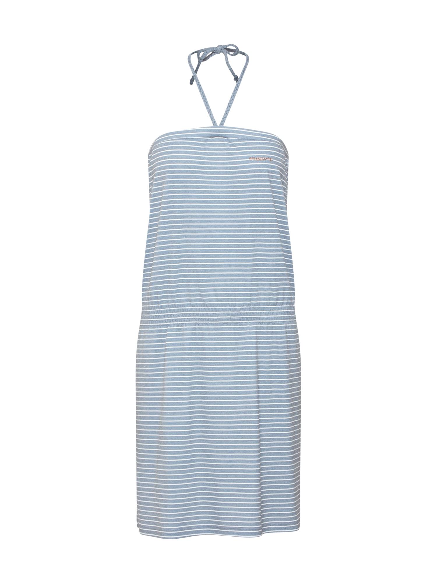 Šaty námořnická modř bílá Mazine