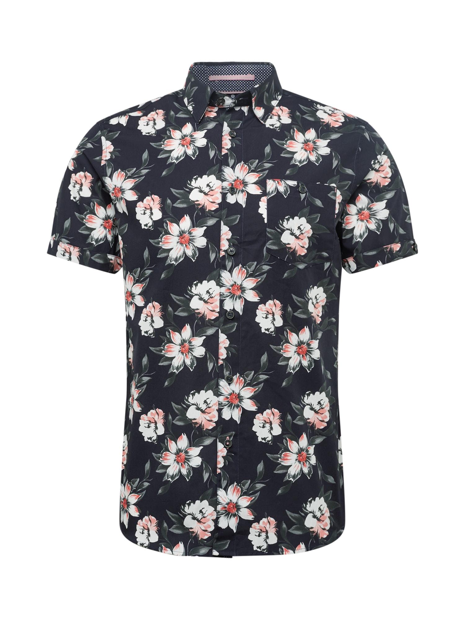 Košile philip námořnická modř růžová Ted Baker
