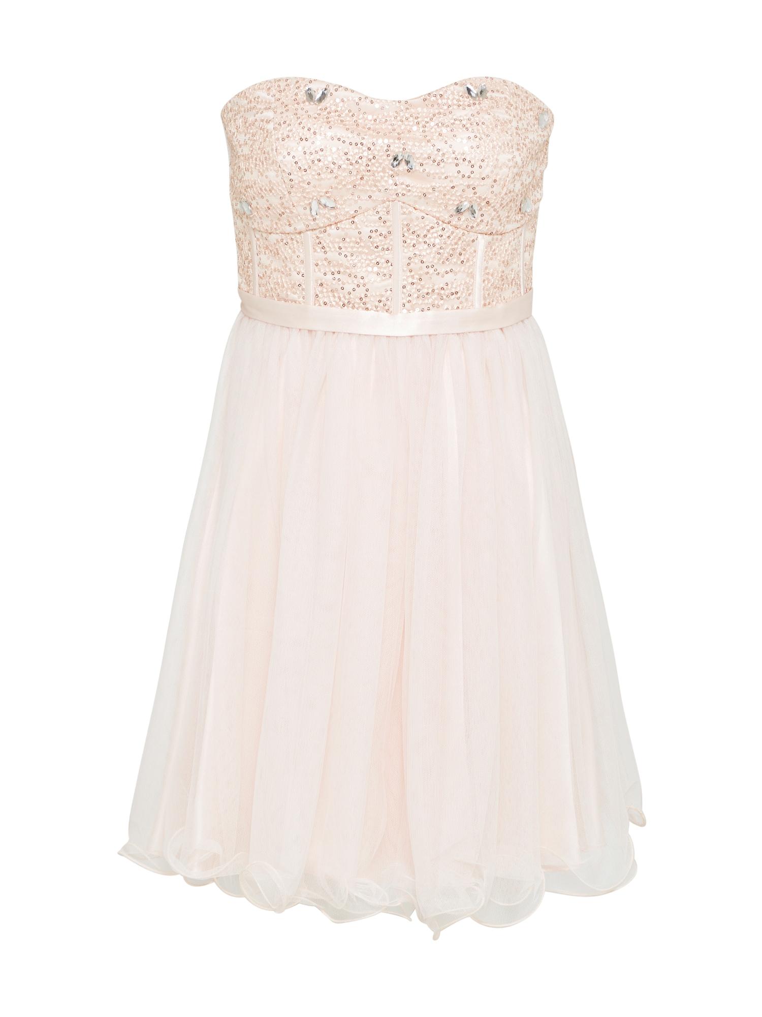 Koktejlové šaty krémová VM Vera Mont
