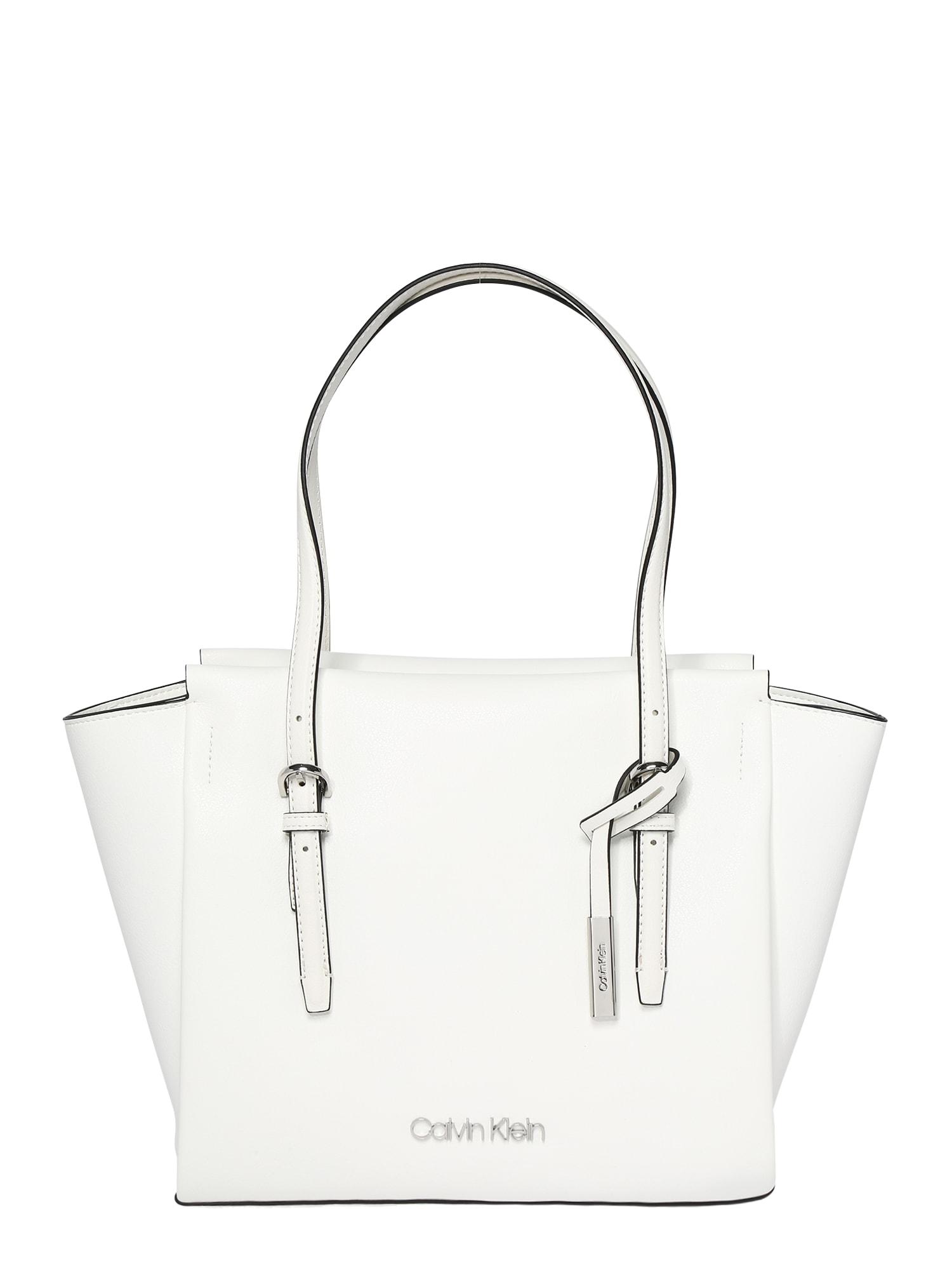 Nákupní taška AVANT černá bílá Calvin Klein
