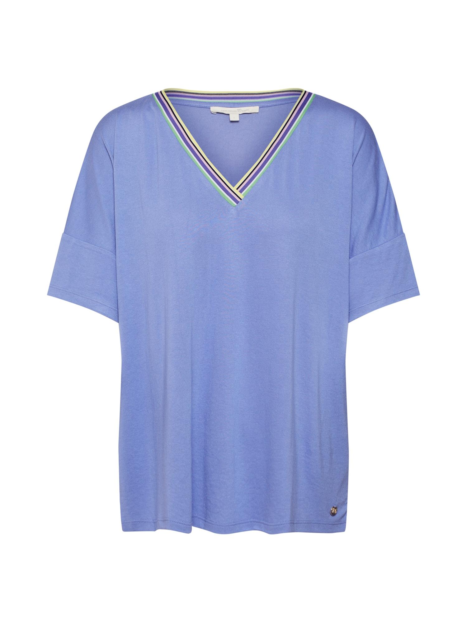 Oversized tričko královská modrá TOM TAILOR DENIM