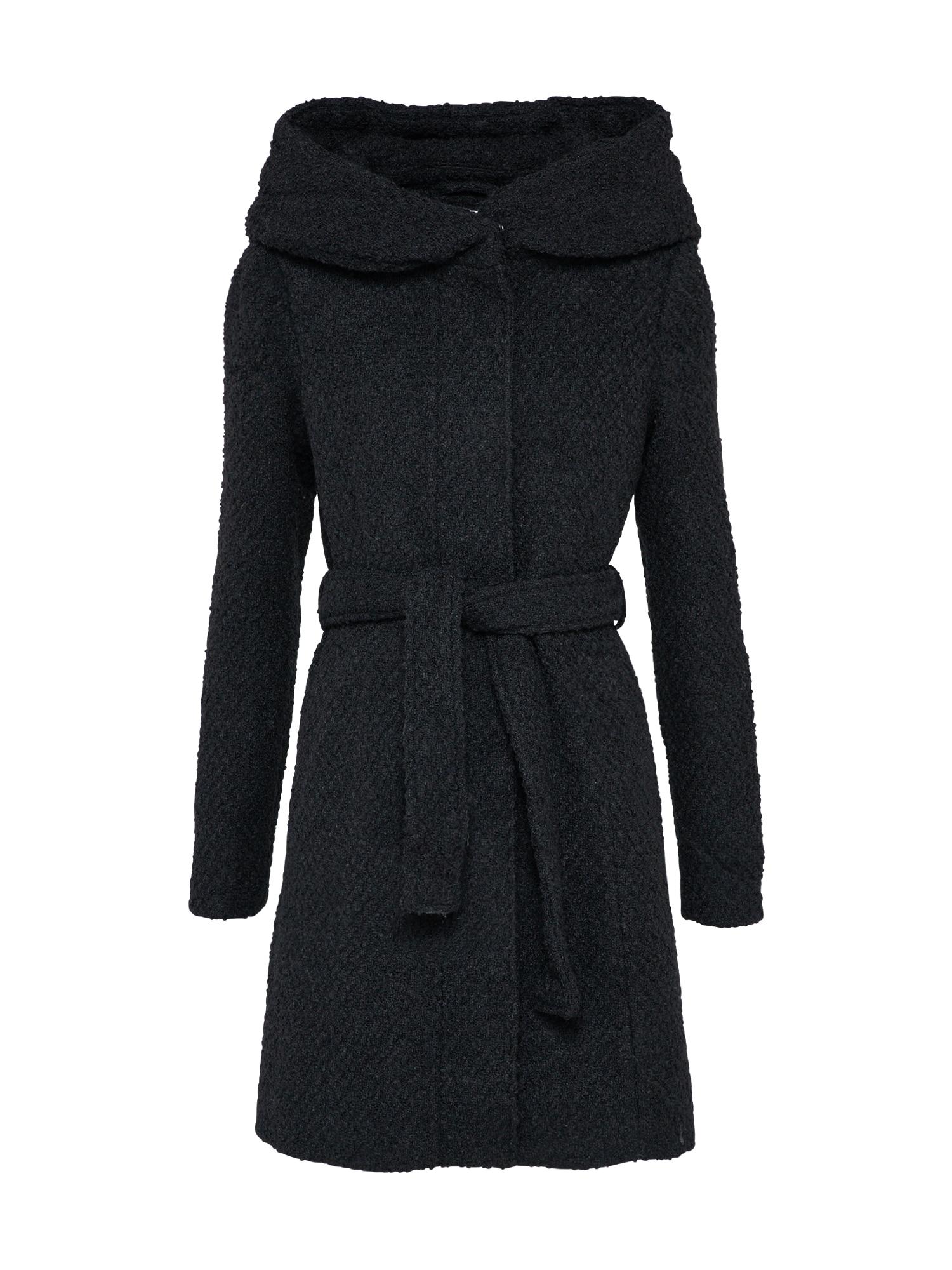 Přechodný kabát Vicama černá VILA