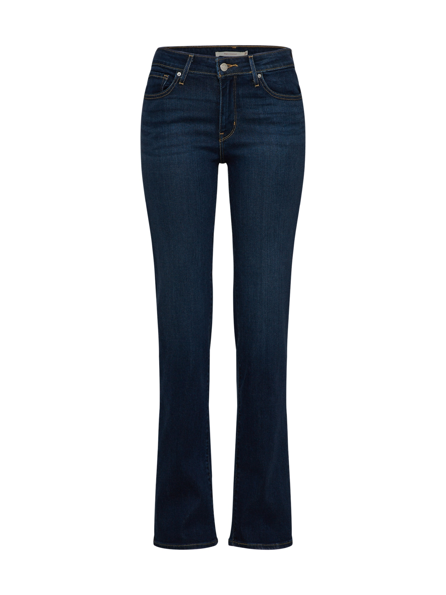 LEVI'S Dames Jeans 714™ STRAIGHT donkerblauw