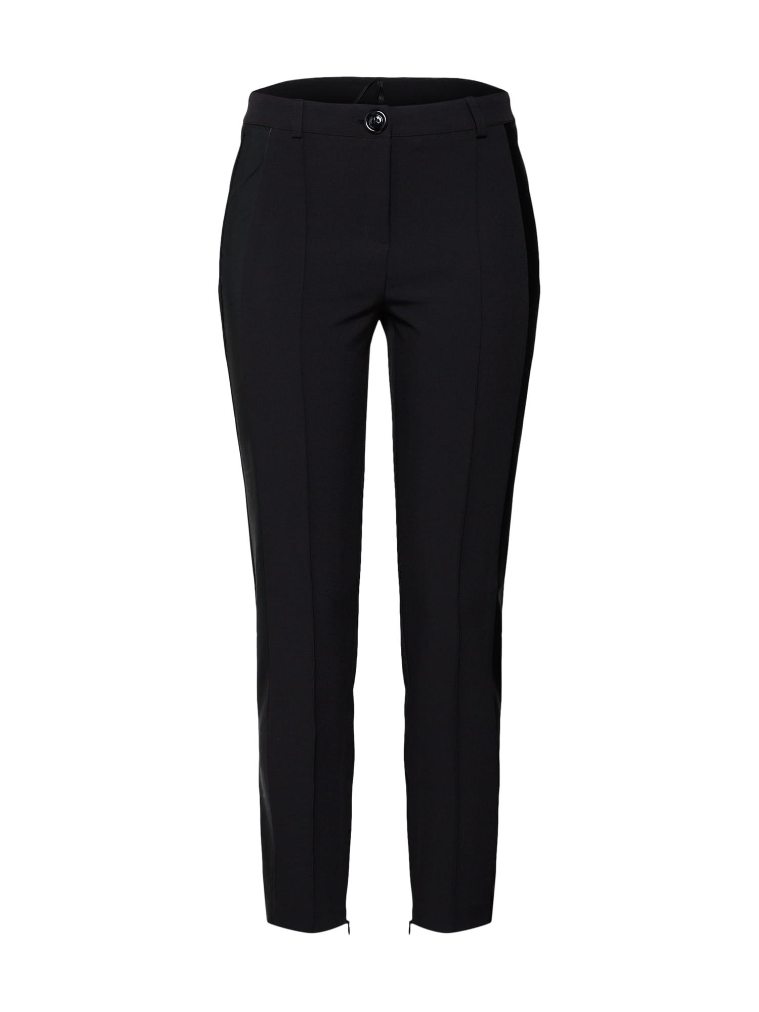 Kalhoty s puky černá Heine