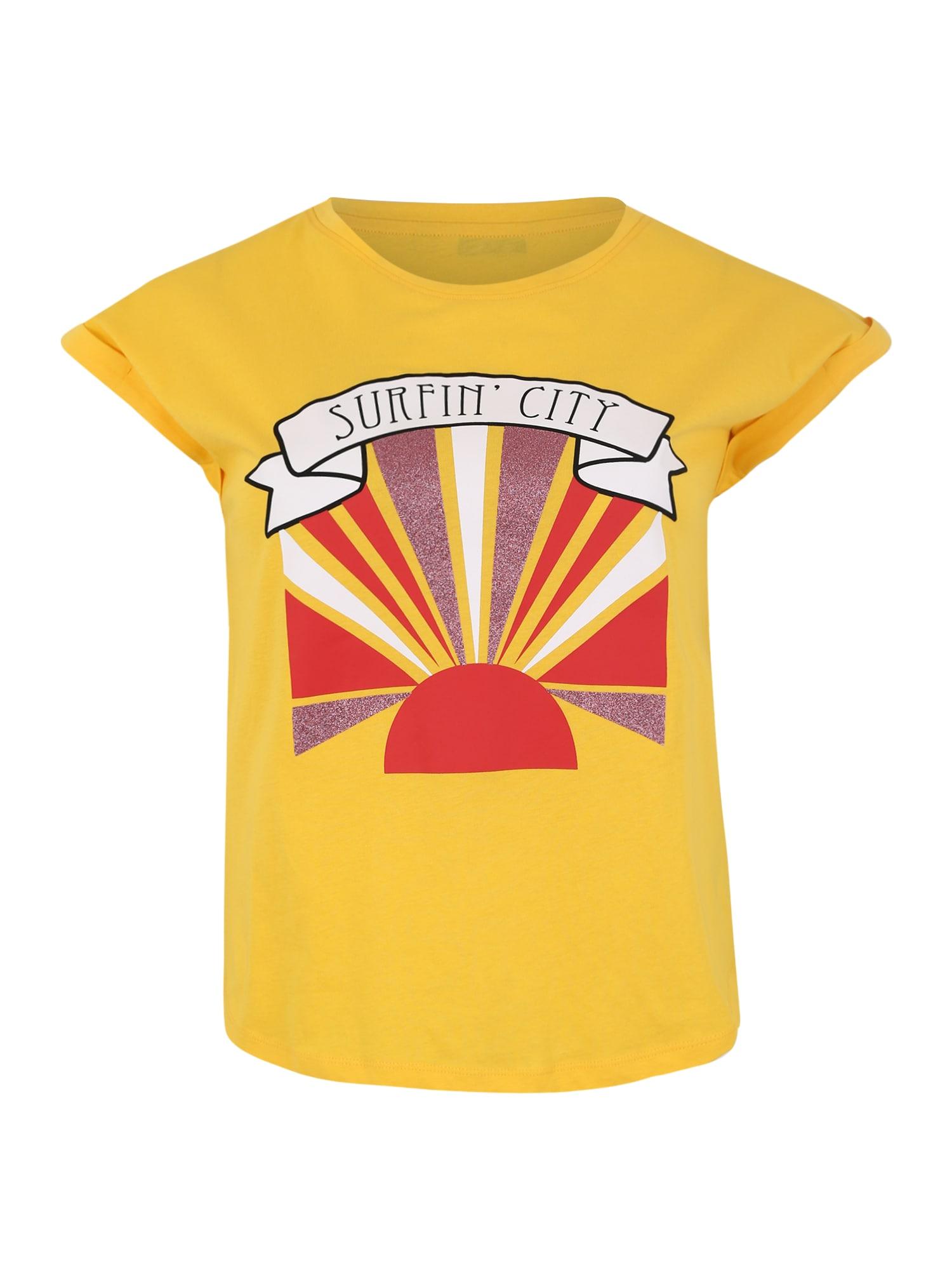 Tričko žlutá ONLY Carmakoma