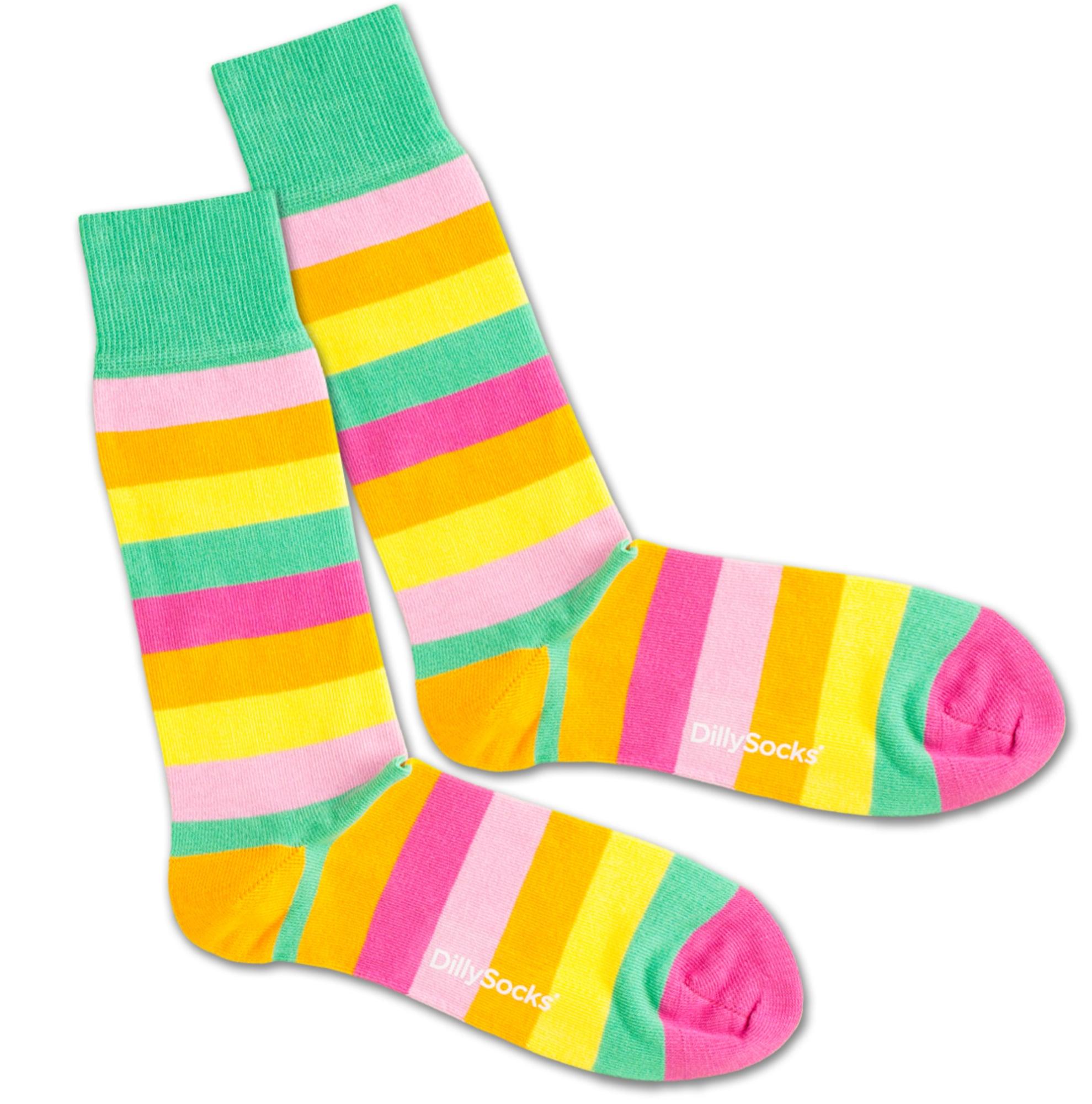 Ponožky Lollipop mix barev DillySocks