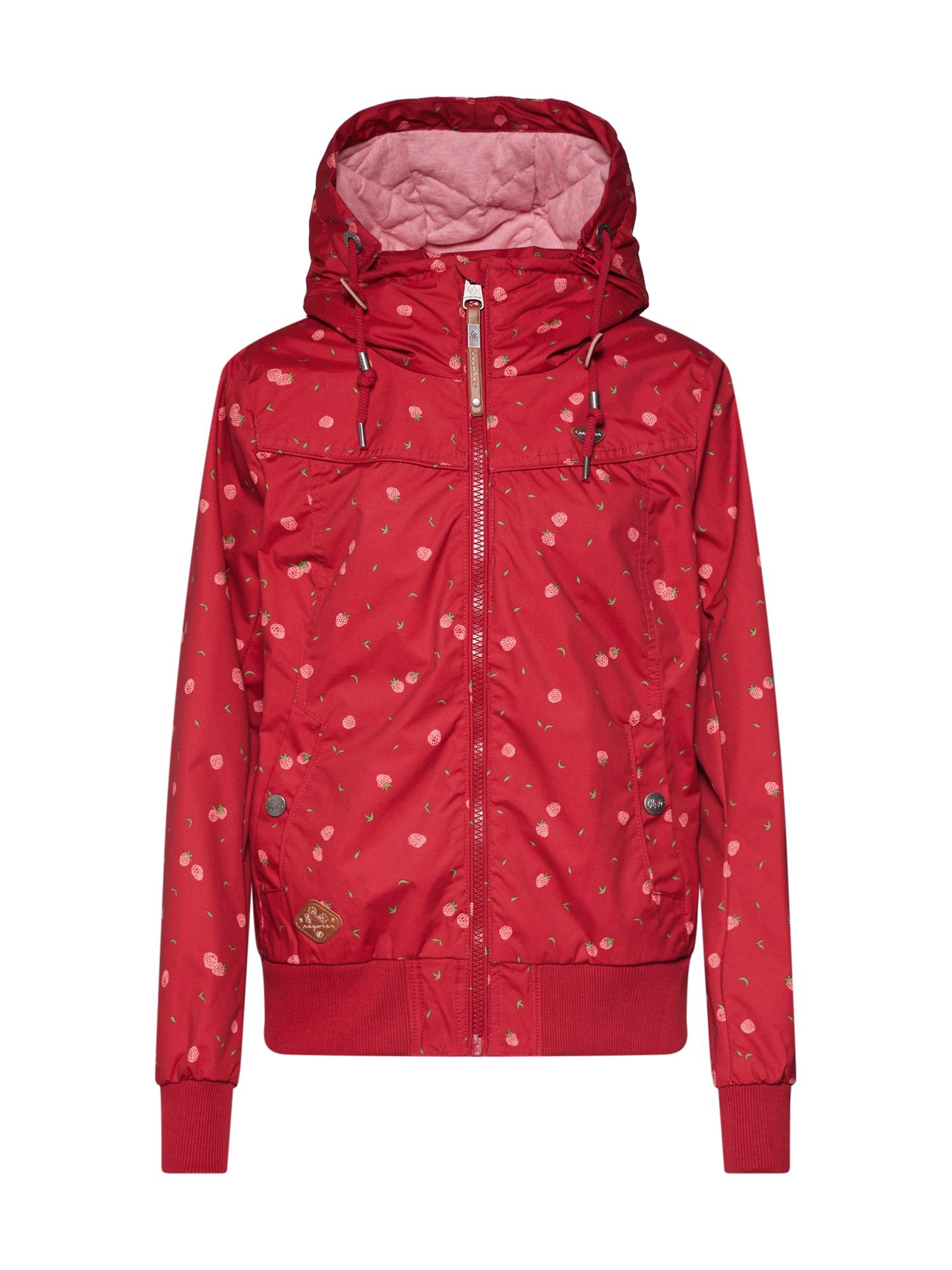 Přechodná bunda Jotty Berries mix barev červená Ragwear
