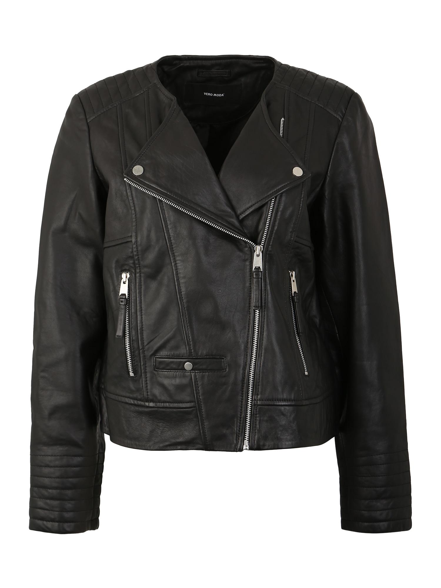 Přechodná bunda SHILA černá Vero Moda Curve