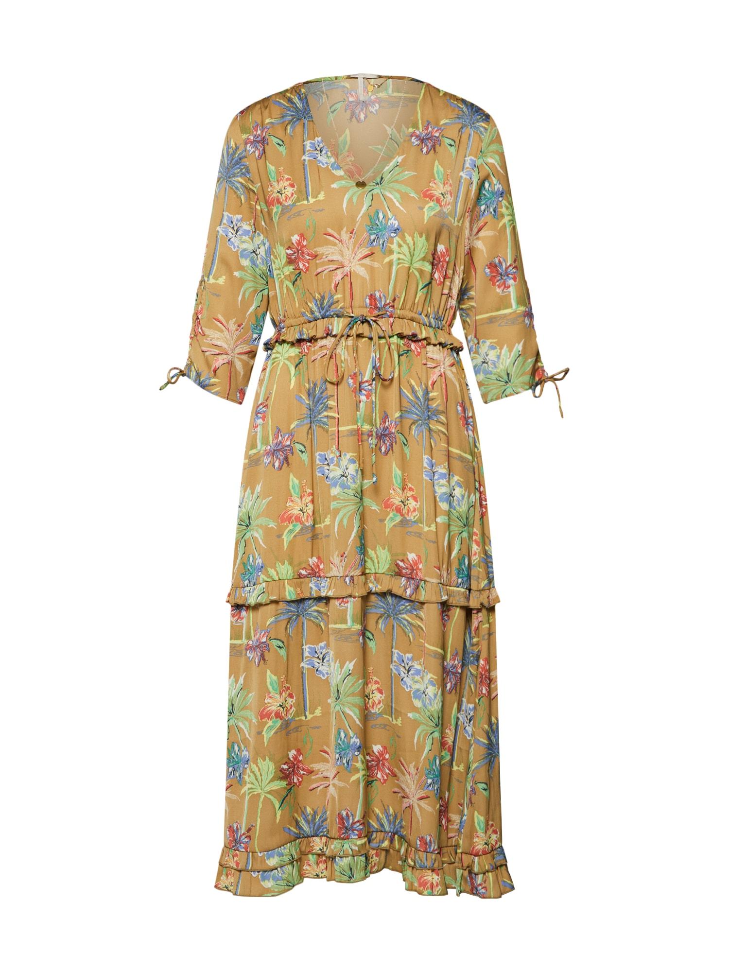 Letní šaty béžová mix barev SCOTCH & SODA