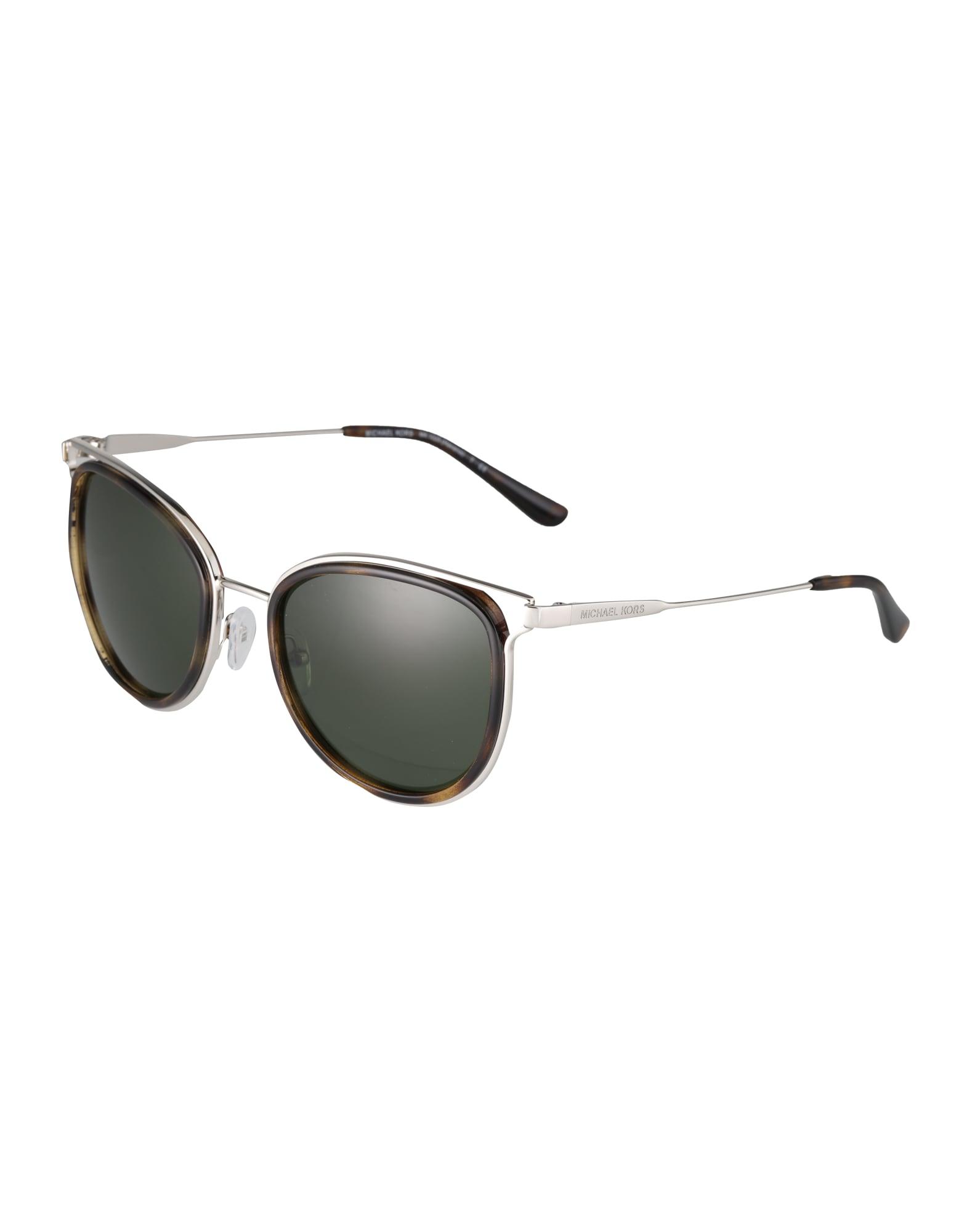 Sluneční brýle hnědá zelená stříbrná Michael Kors