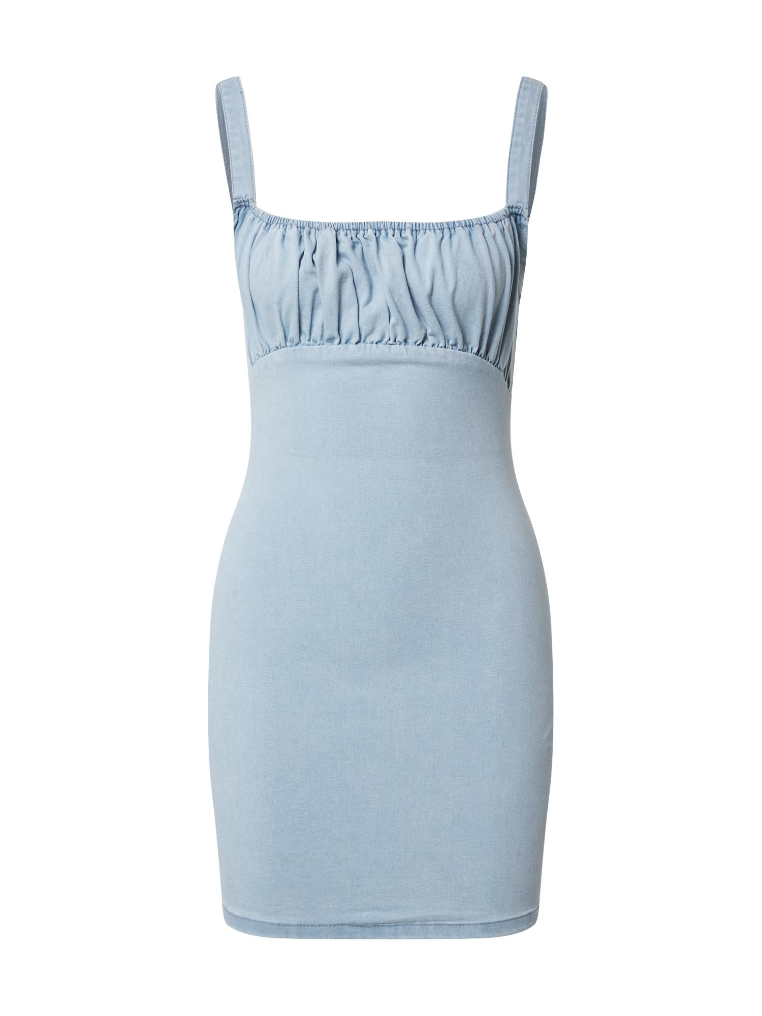Missguided Šaty  modrá