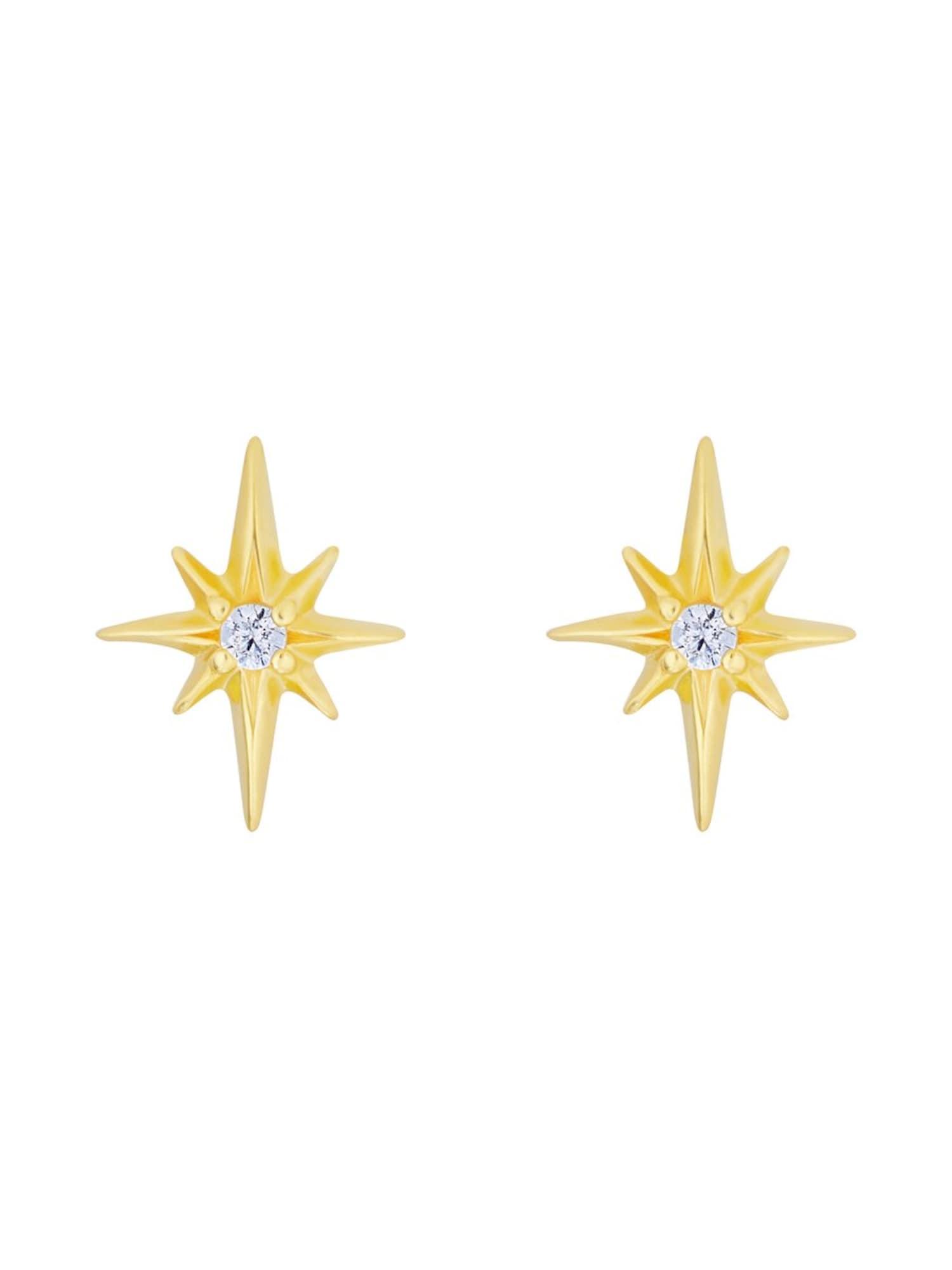Ohrstecker 'Star' | Schmuck > Ohrschmuck & Ohrringe > Ohrstecker | Gold | ID Fine