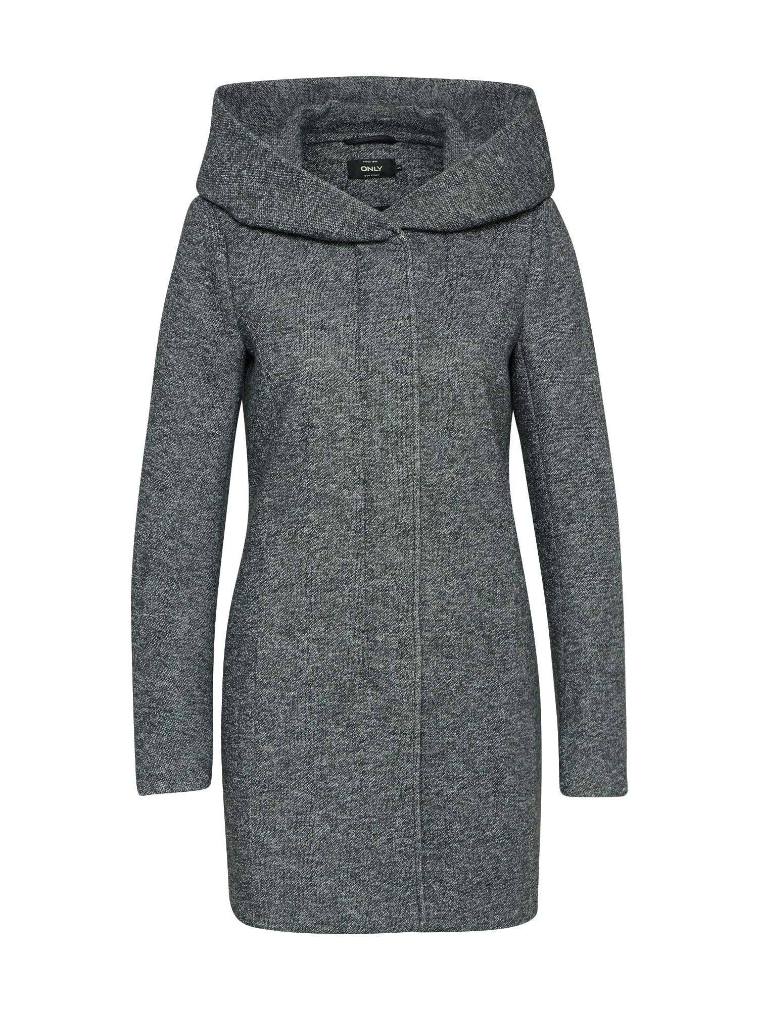 Přechodný kabát onlSEDONA tmavě šedá ONLY
