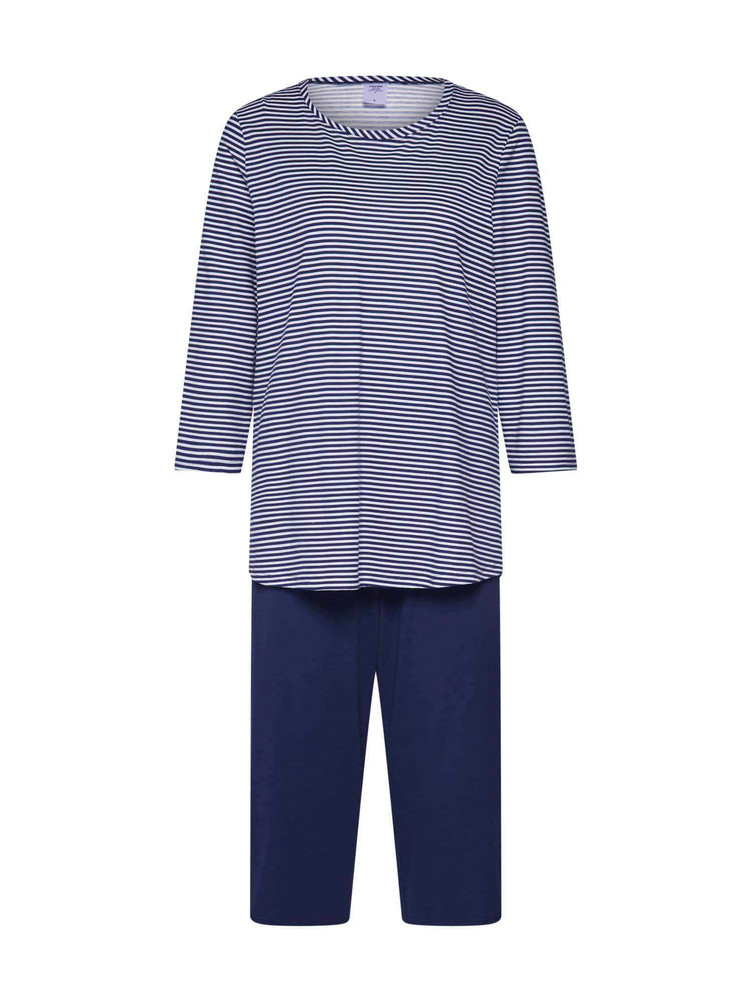Pyžamo Soft Jersey Fun modrá CALIDA