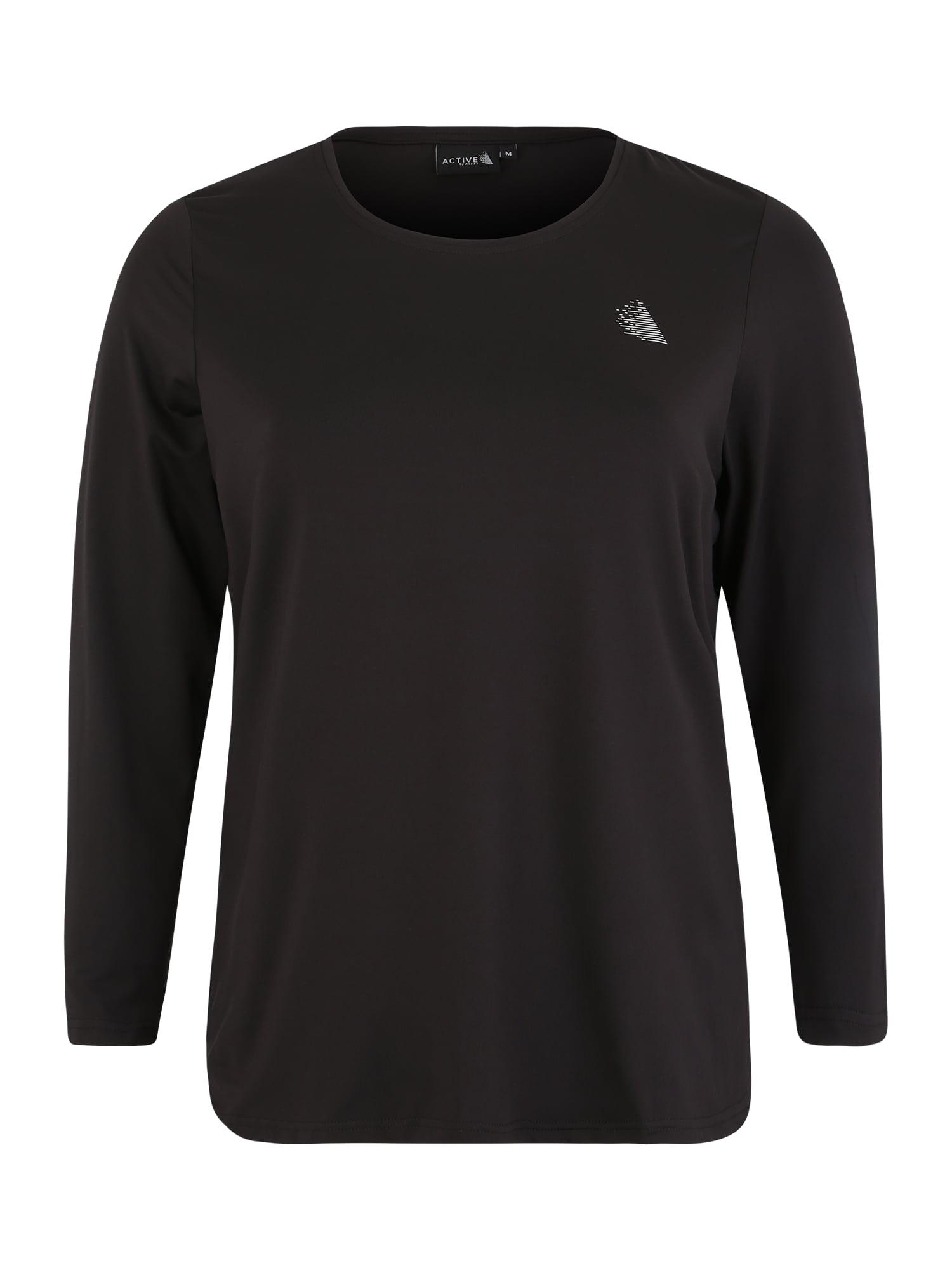 Funkční tričko ABASIC černá Active By Zizzi