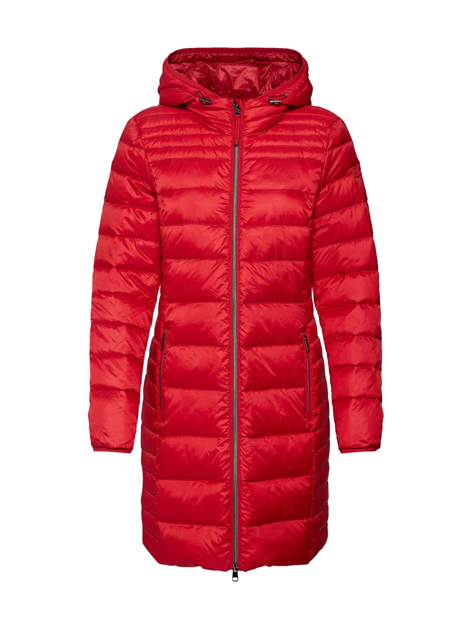 Přechodný kabát červená ESPRIT